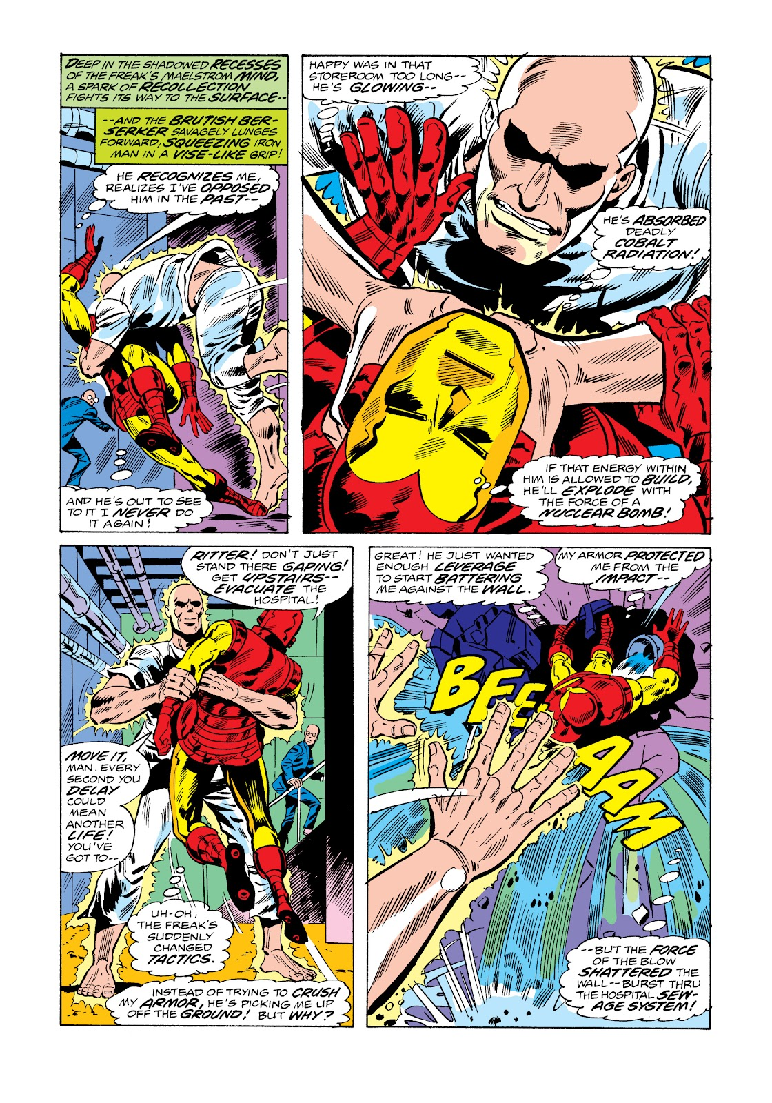 Read online Marvel Masterworks: The Invincible Iron Man comic -  Issue # TPB 11 (Part 1) - 56