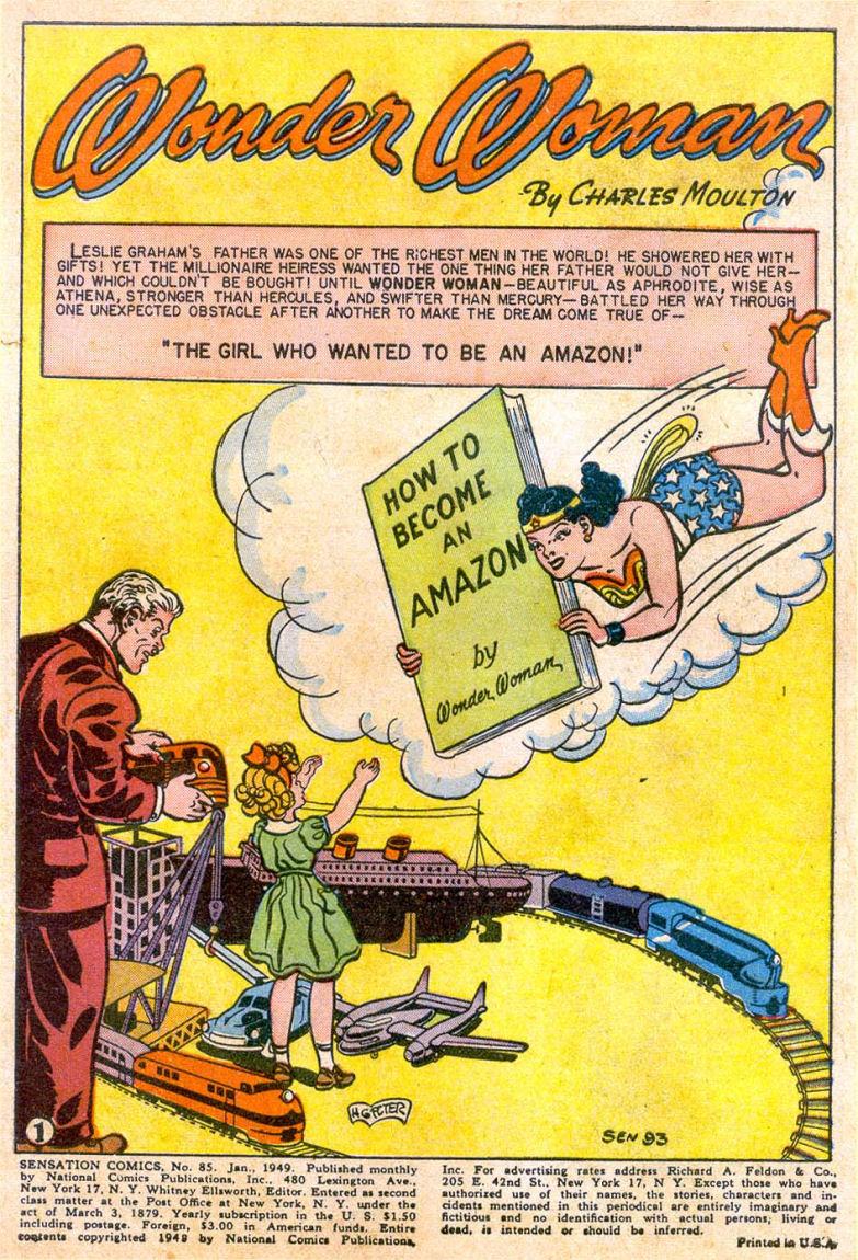 Read online Sensation (Mystery) Comics comic -  Issue #85 - 2