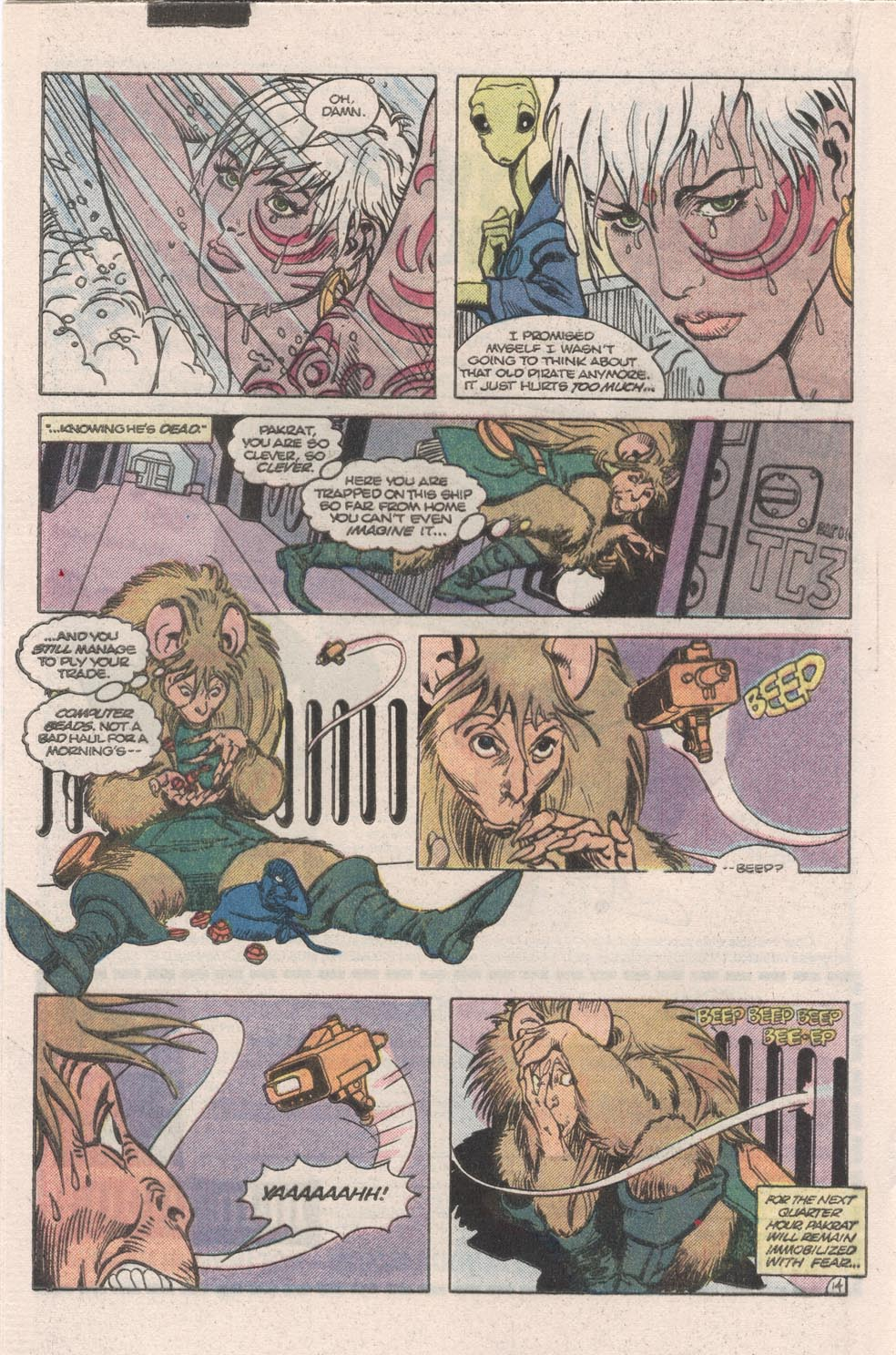 Read online Atari Force (1984) comic -  Issue #9 - 16