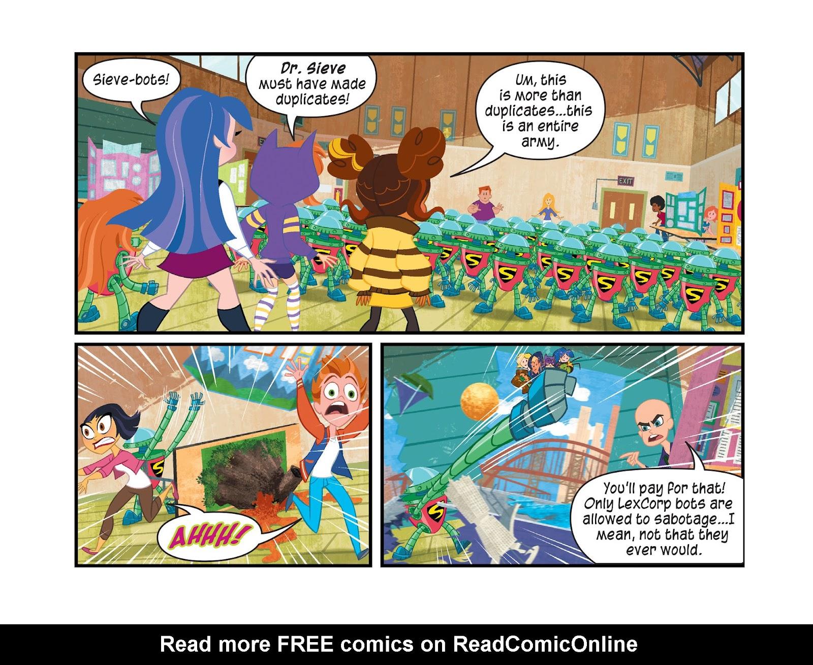 Read online DC Super Hero Girls: Weird Science comic -  Issue #14 - 12