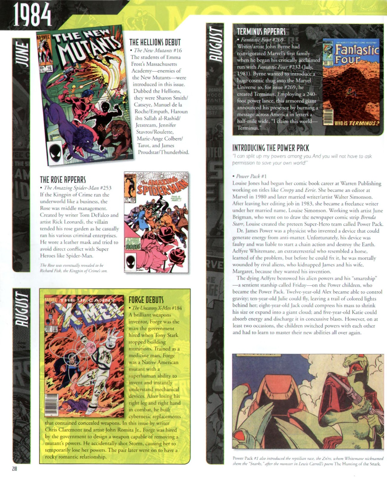 Read online Marvel Chronicle comic -  Issue # TPB (Part 3) - 16