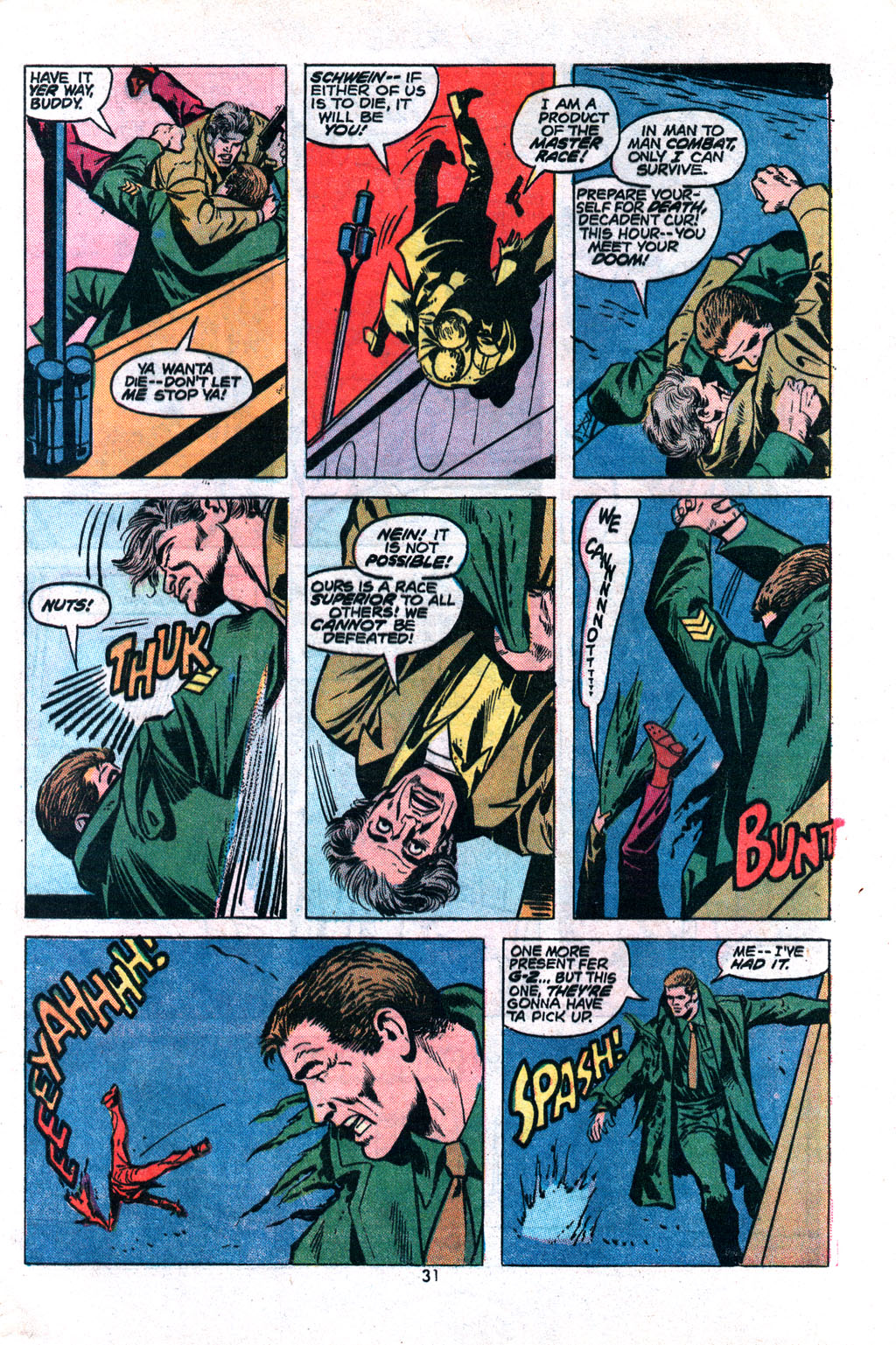 Read online Sgt. Fury comic -  Issue #117 - 33