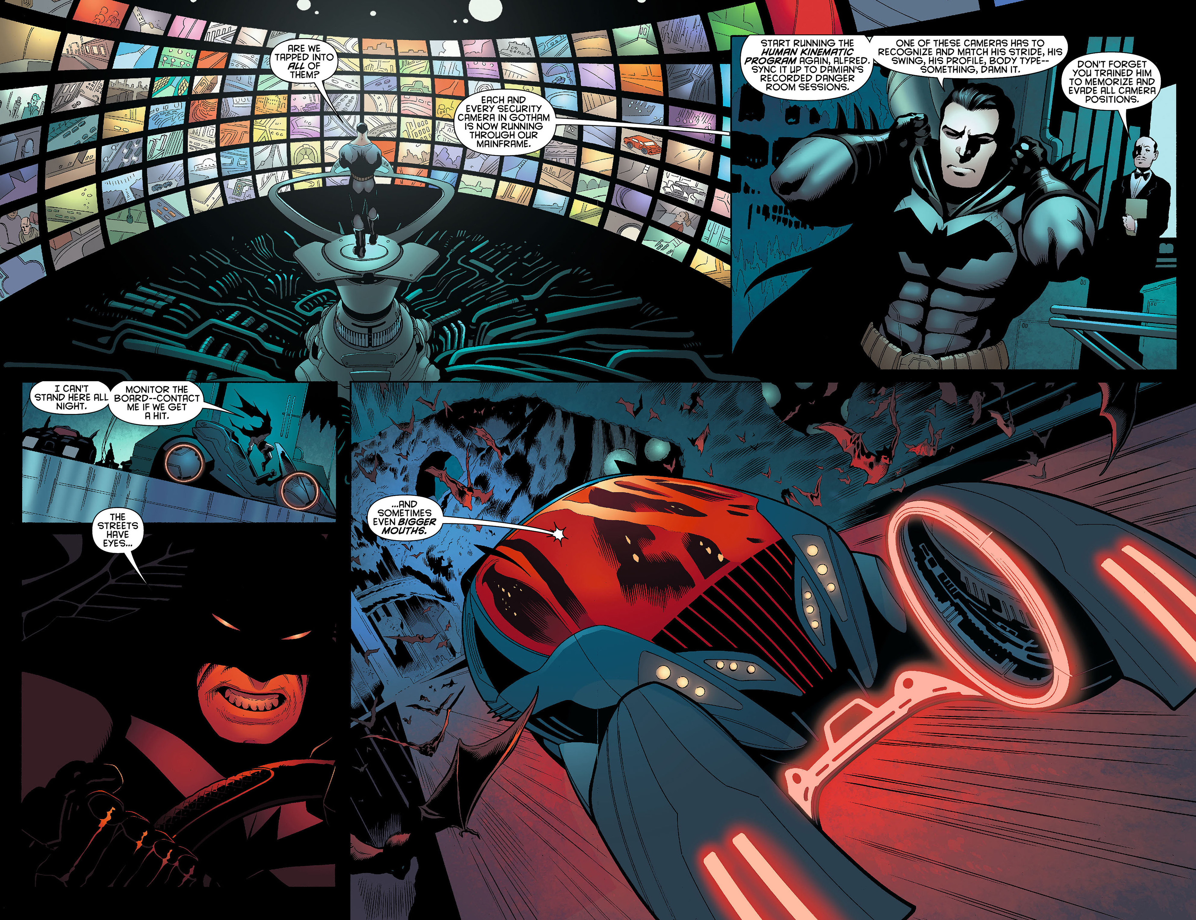 Read online Batman and Robin (2011) comic -  Issue #5 - 7