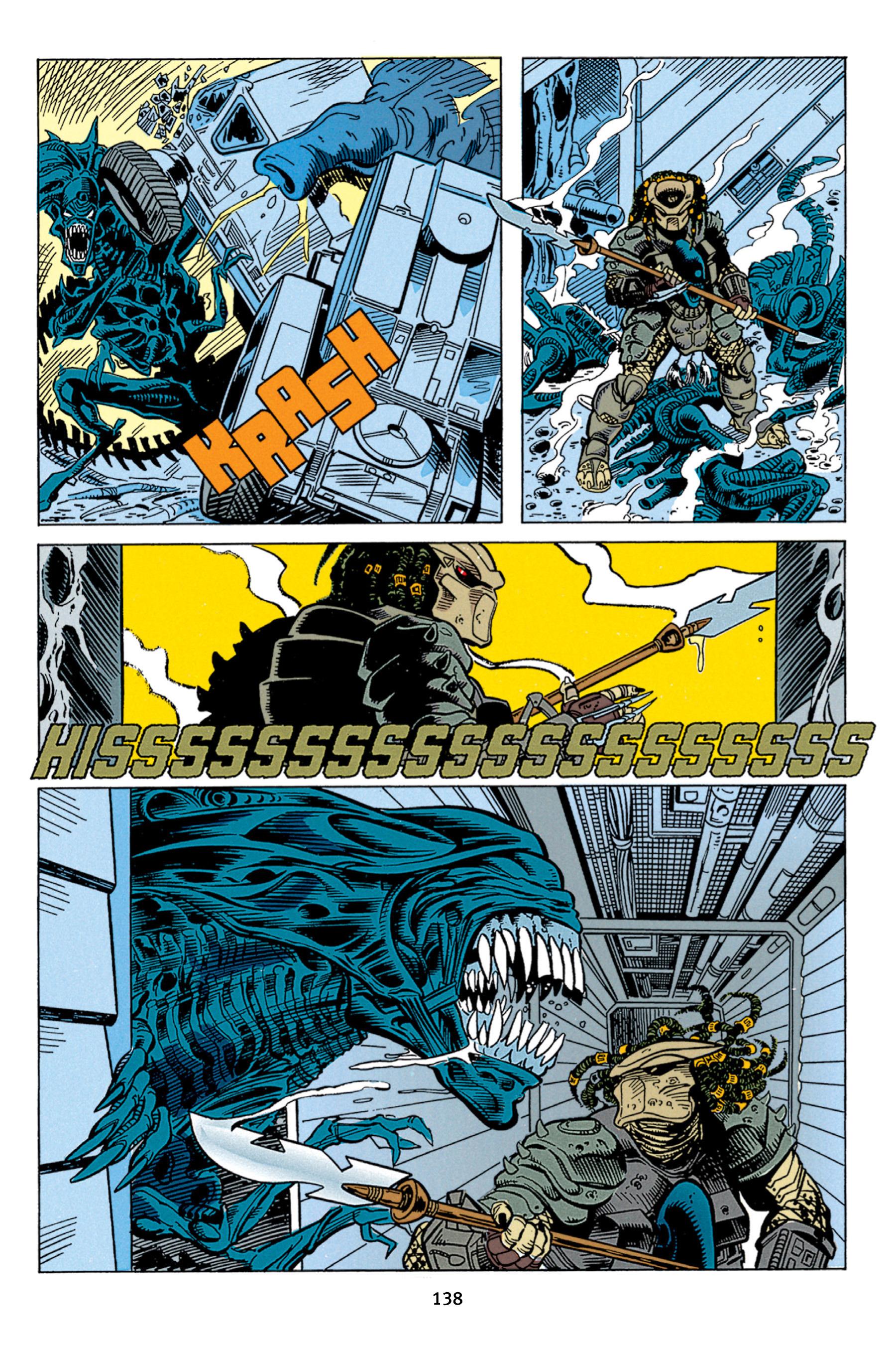 Read online Aliens vs. Predator Omnibus comic -  Issue # _TPB 1 Part 2 - 37