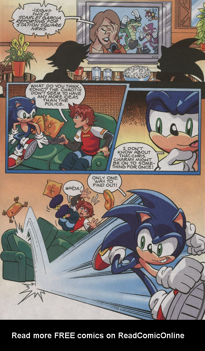 Read online Sonic X comic -  Issue #35 - 5