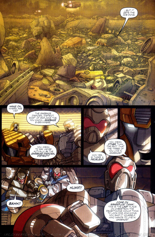 Read online Transformers Armada comic -  Issue #2 - 10