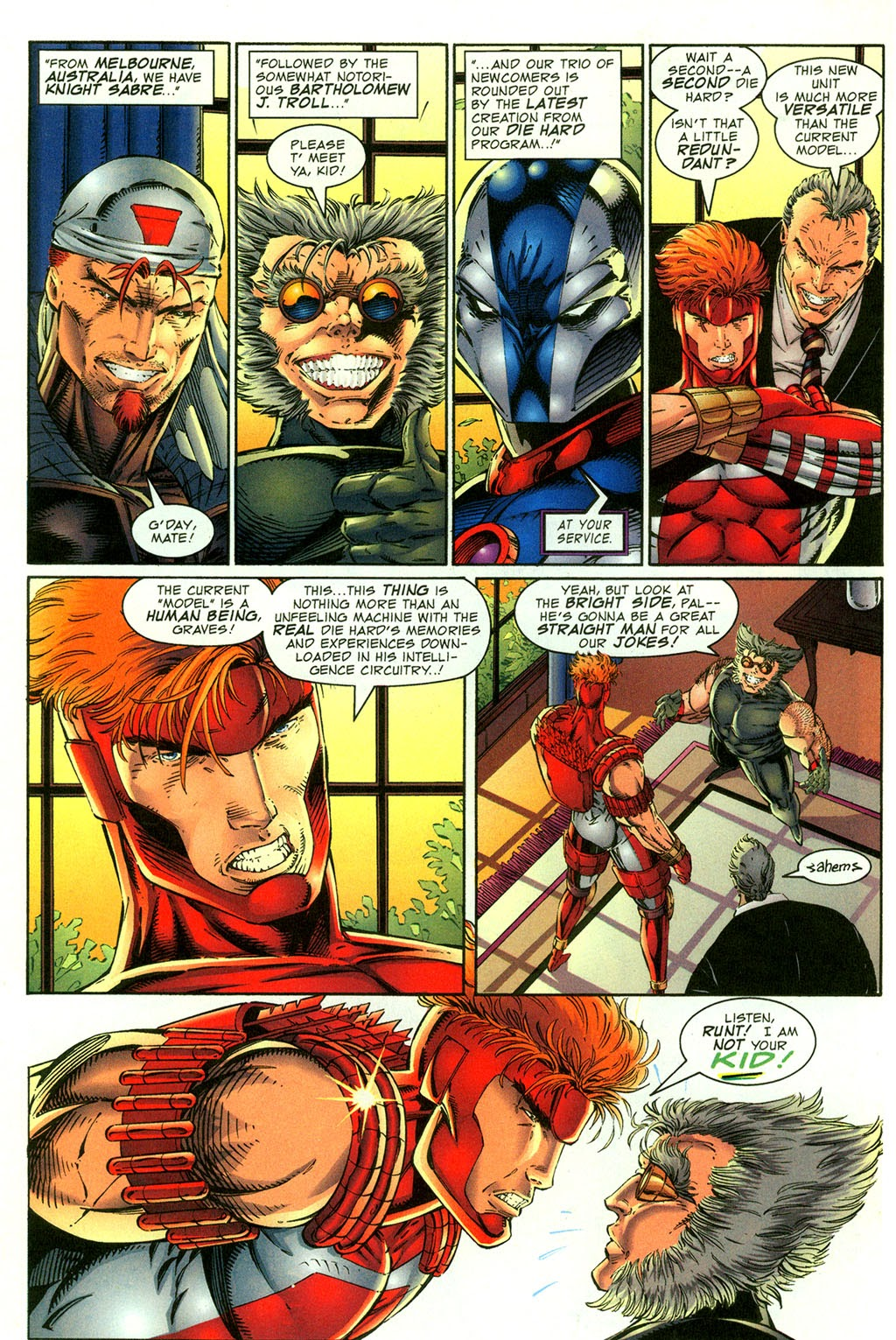 Read online Youngblood GT Interactive Ultra Game Players Special Edition comic -  Issue # Full - 10