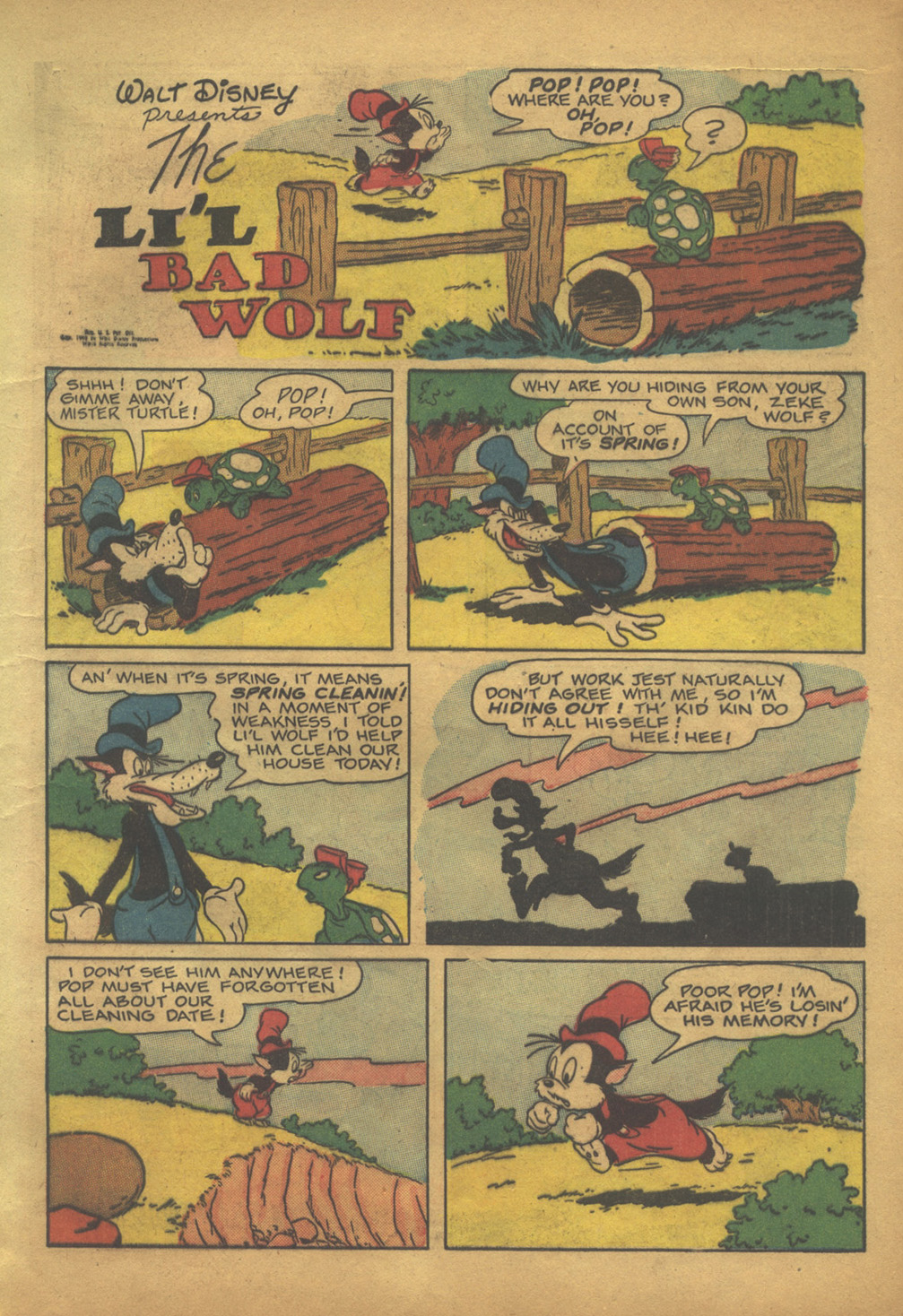 Walt Disney's Comics and Stories issue 103 - Page 13
