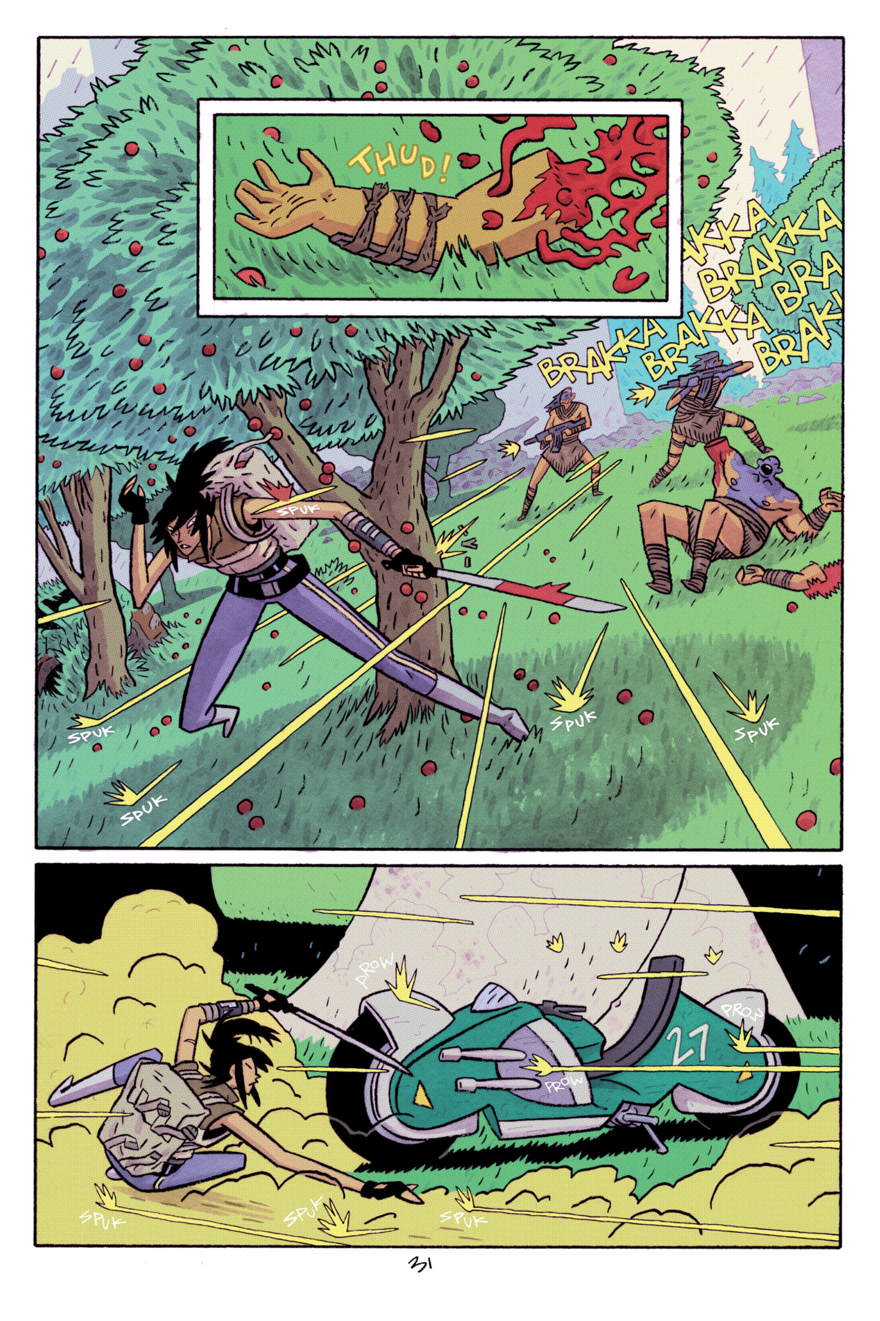 Read online ApocalyptiGirl: An Aria for the End Times comic -  Issue #ApocalyptiGirl: An Aria for the End Times Full - 39