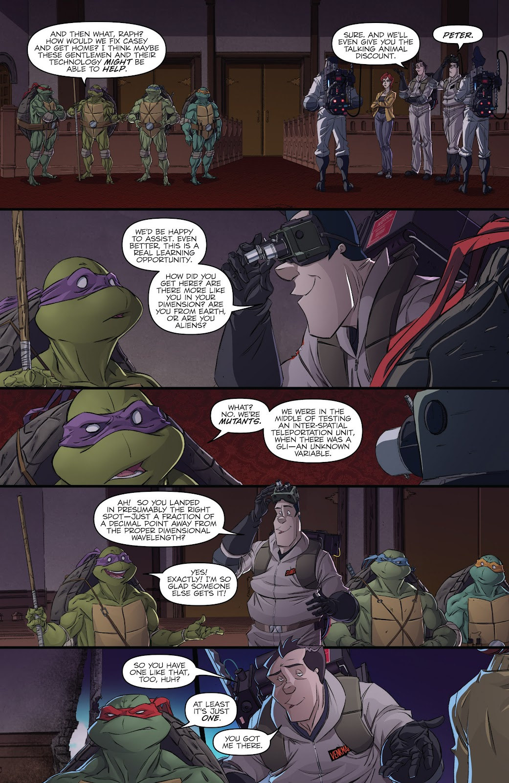 Read online Teenage Mutant Ninja Turtles: The IDW Collection comic -  Issue # TPB 5 (Part 2) - 100