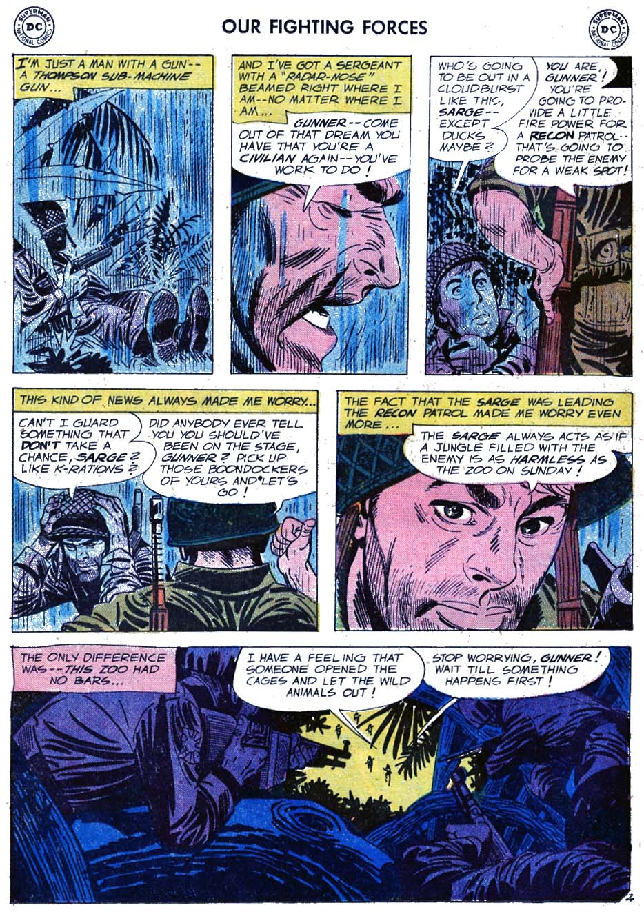 Our Fighting Forces (1954) issue 46 - Page 4
