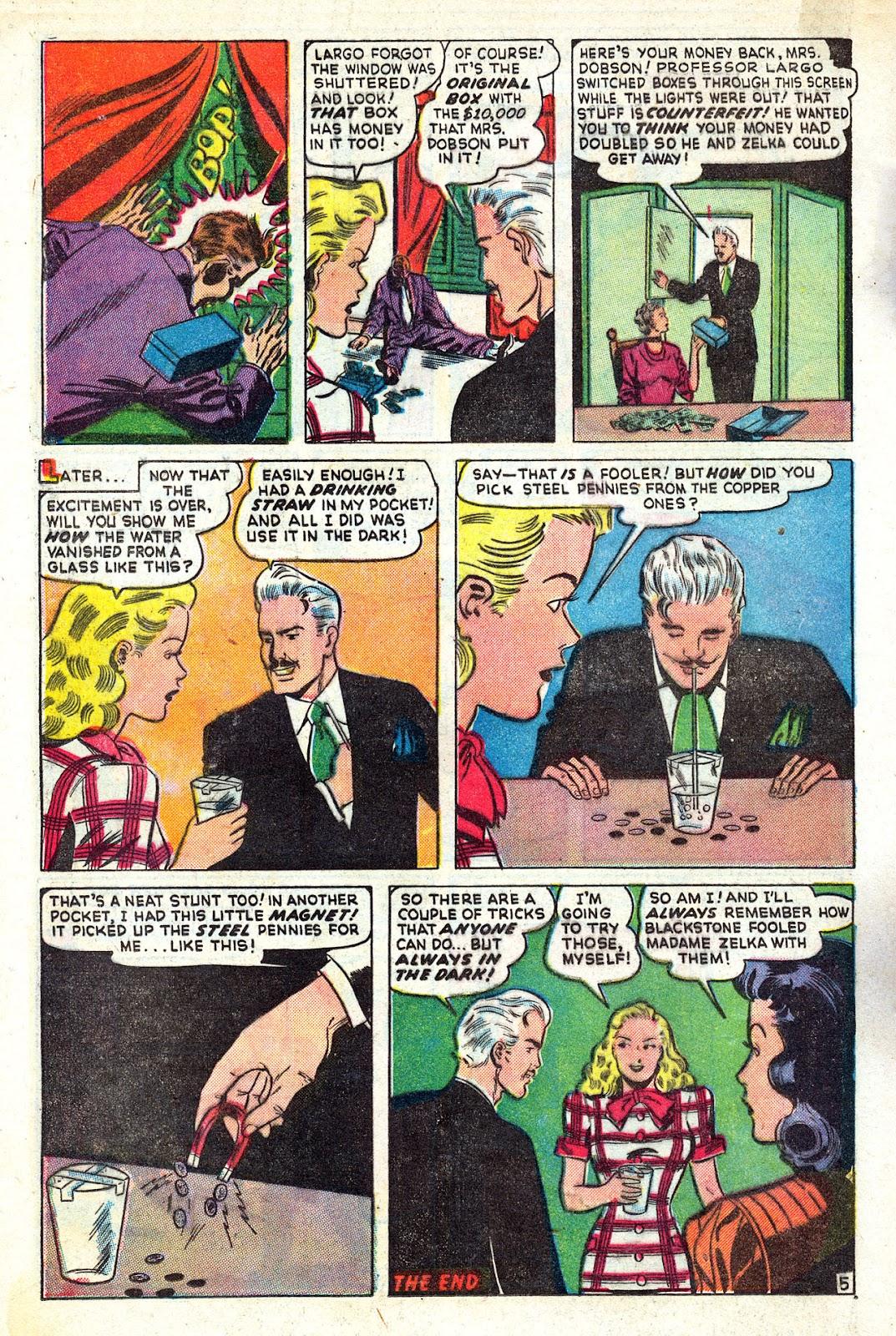 Read online Blackstone the Magician comic -  Issue #4 - 16