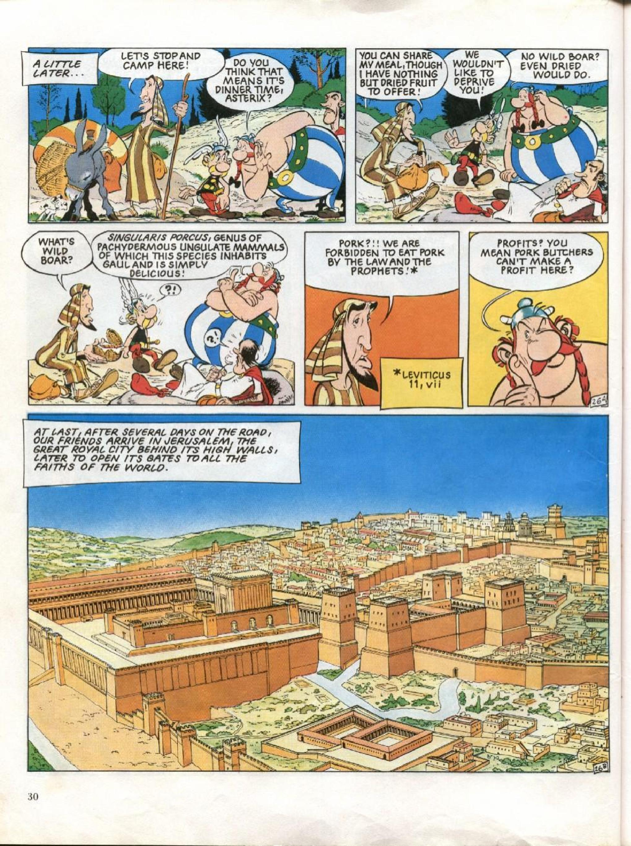 Read online Asterix comic -  Issue #26 - 27