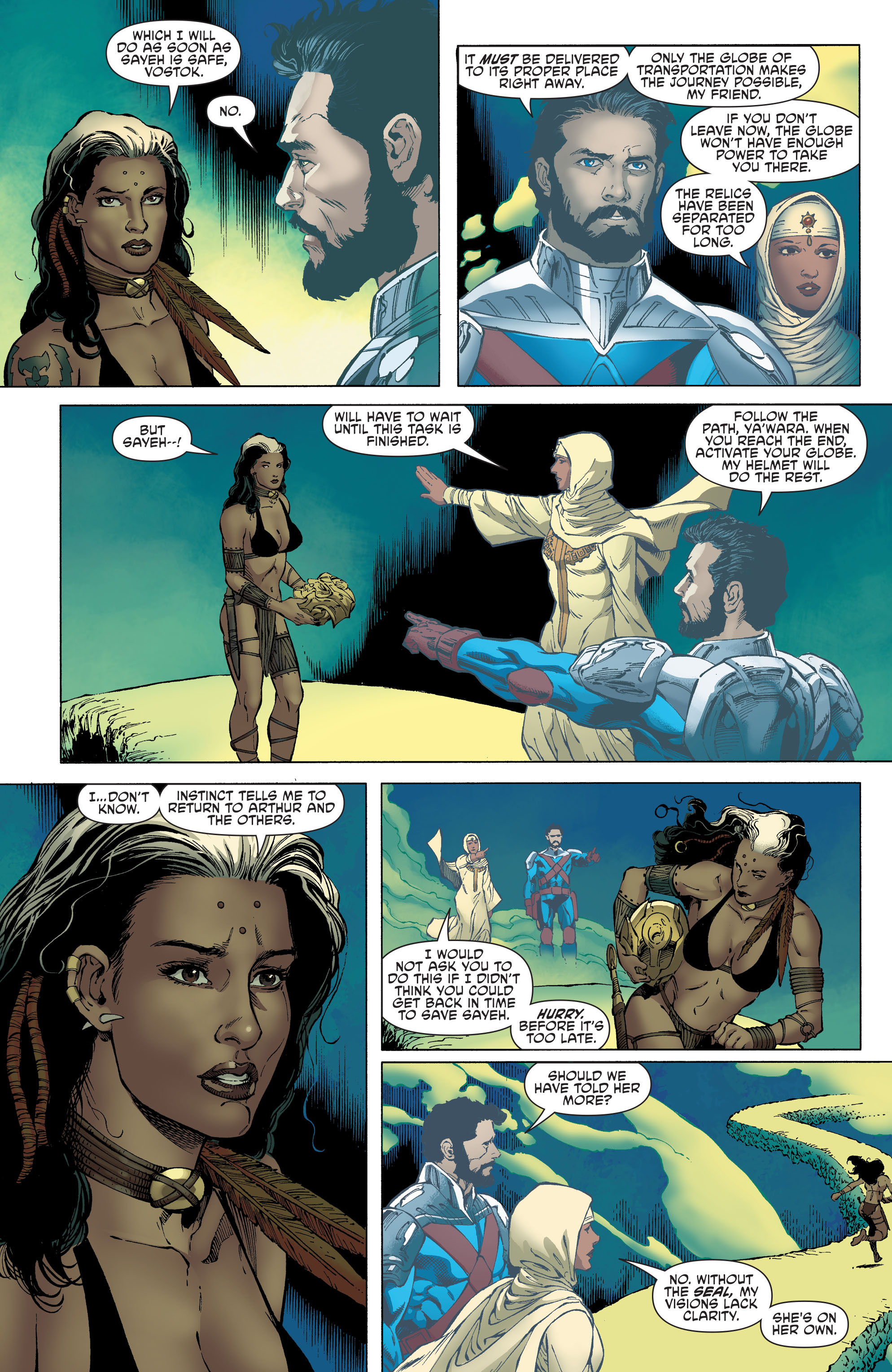 Read online Aquaman and the Others comic -  Issue #4 - 7