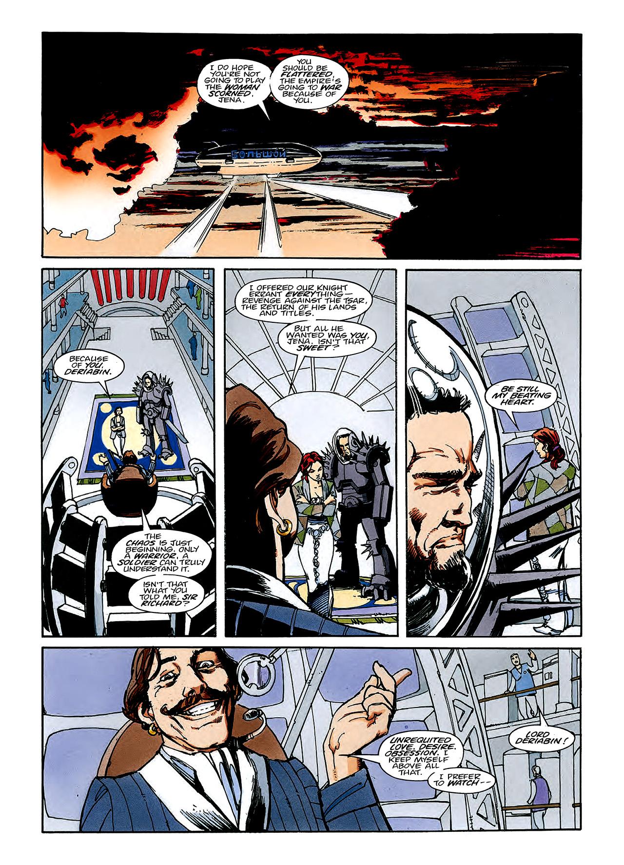 Read online Nikolai Dante comic -  Issue # TPB 3 - 110