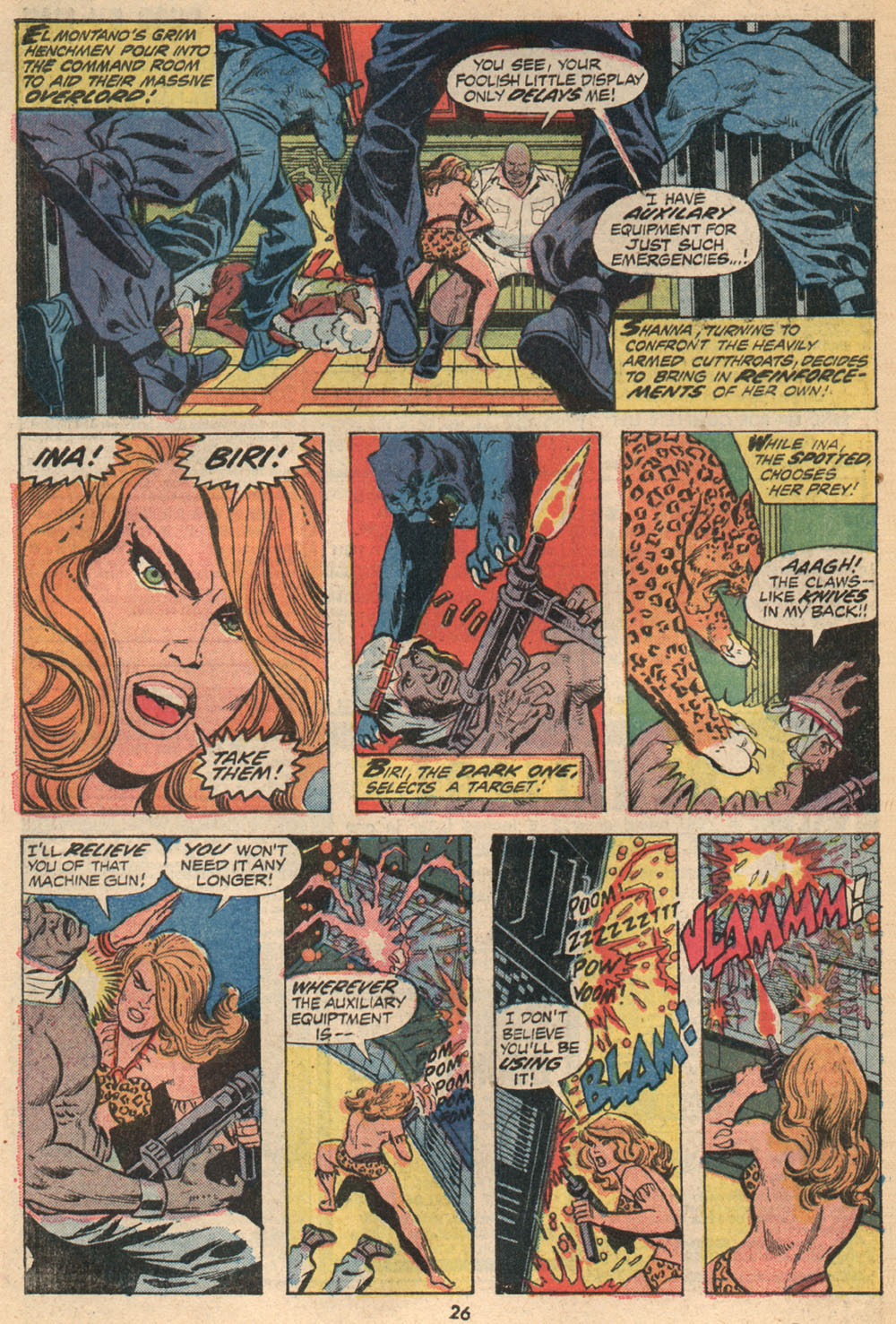 Read online Shanna, the She-Devil (1972) comic -  Issue #2 - 17