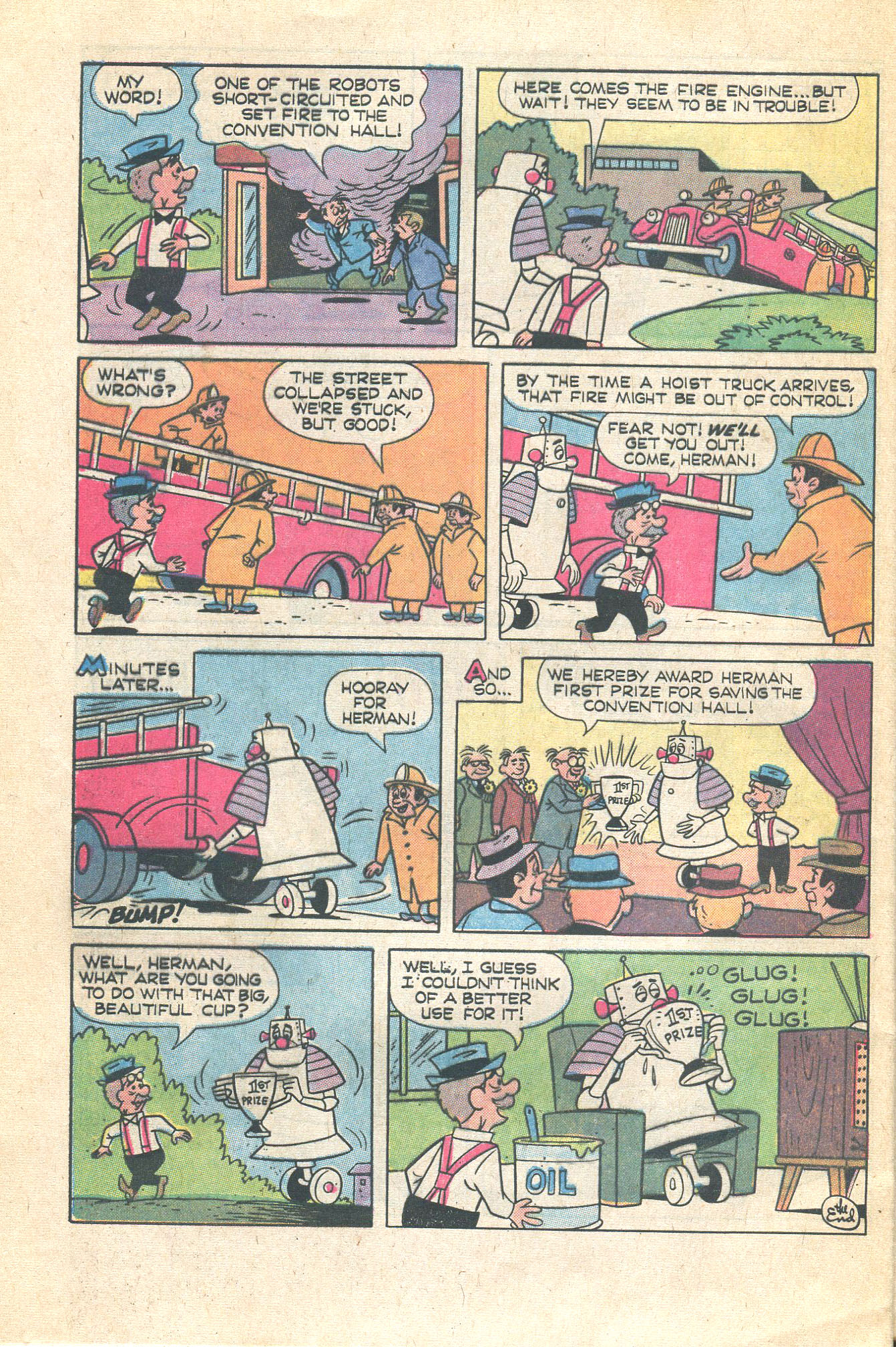 Read online Scooby-Doo... Where Are You! (1970) comic -  Issue #16 - 32