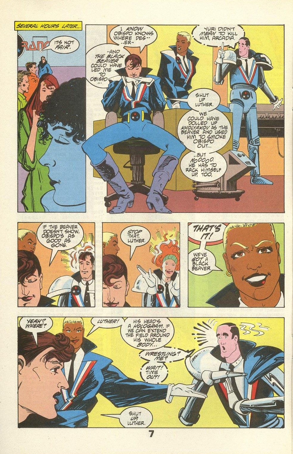 Read online American Flagg! comic -  Issue #34 - 10