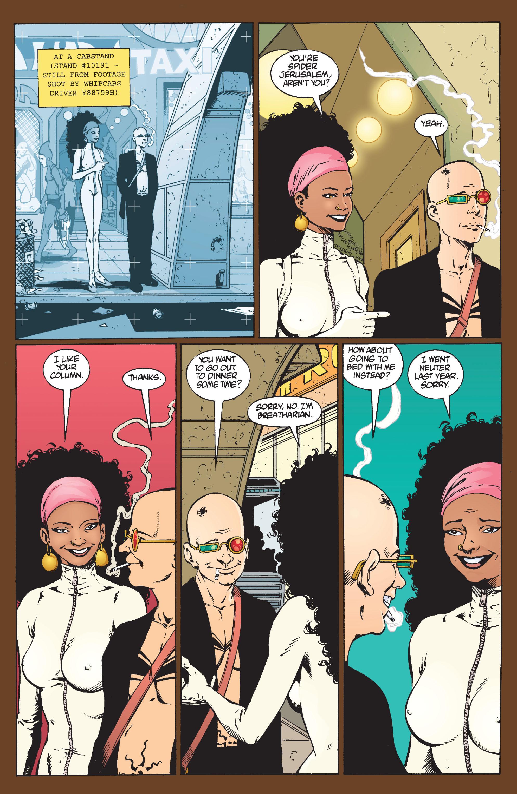 Read online Transmetropolitan comic -  Issue #9 - 14