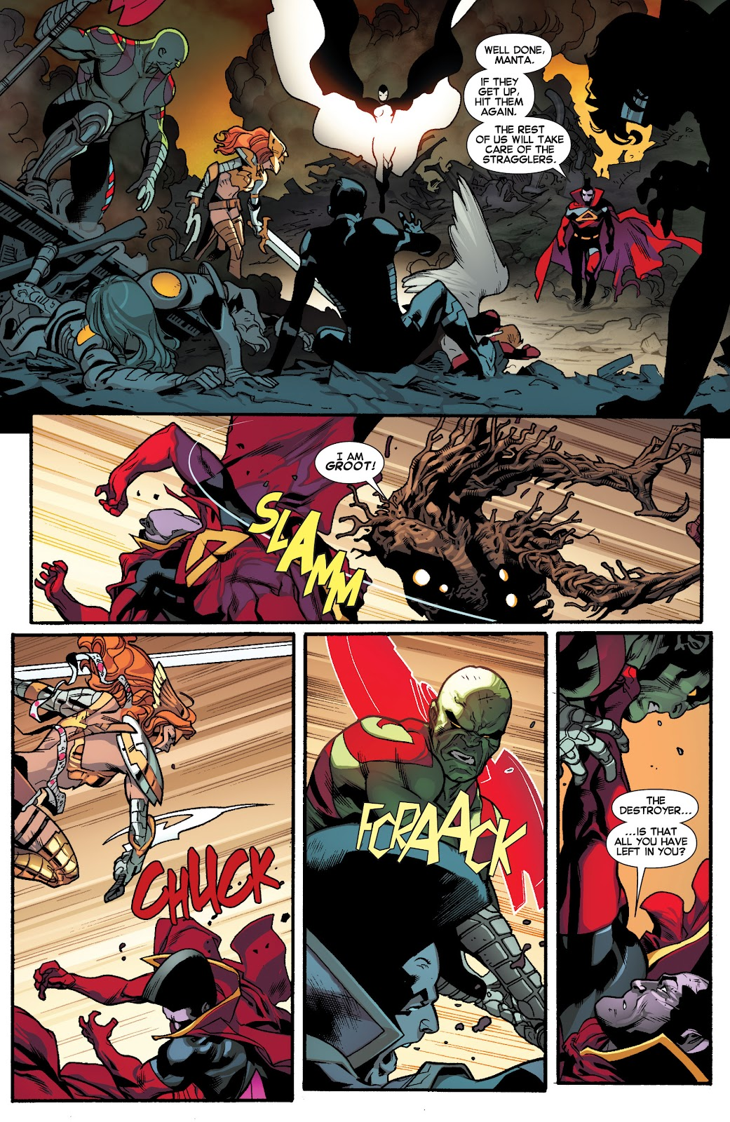 Guardians of the Galaxy/All-New X-Men: The Trial of Jean Grey issue TPB - Page 93