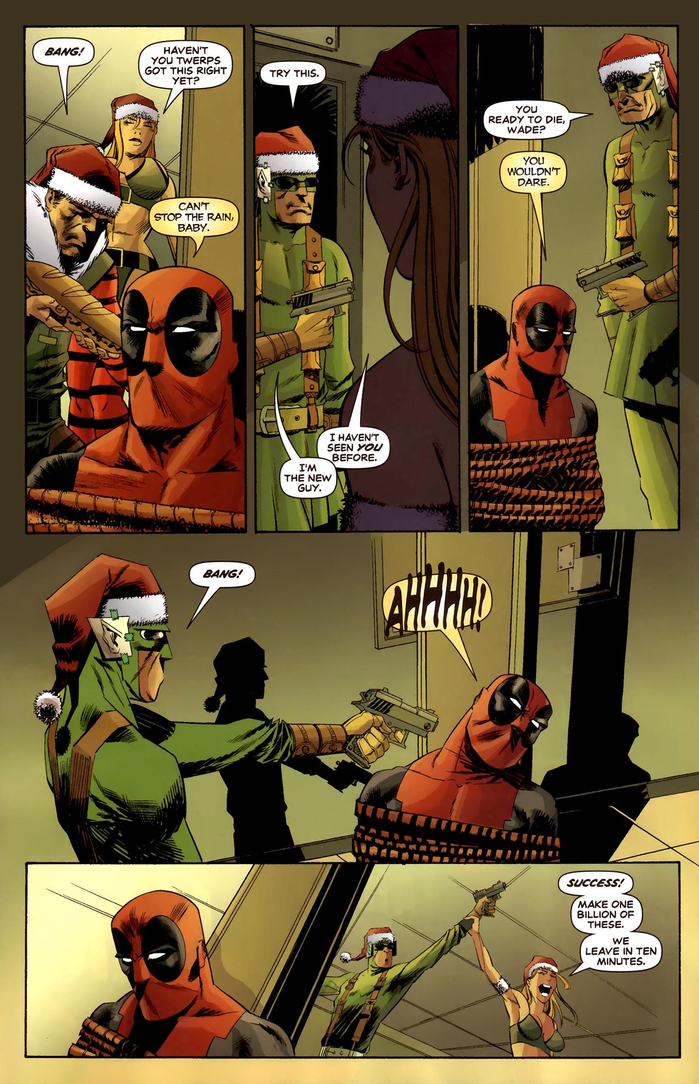 Read online Deadpool MAX X-Mas Special comic -  Issue # Full - 29