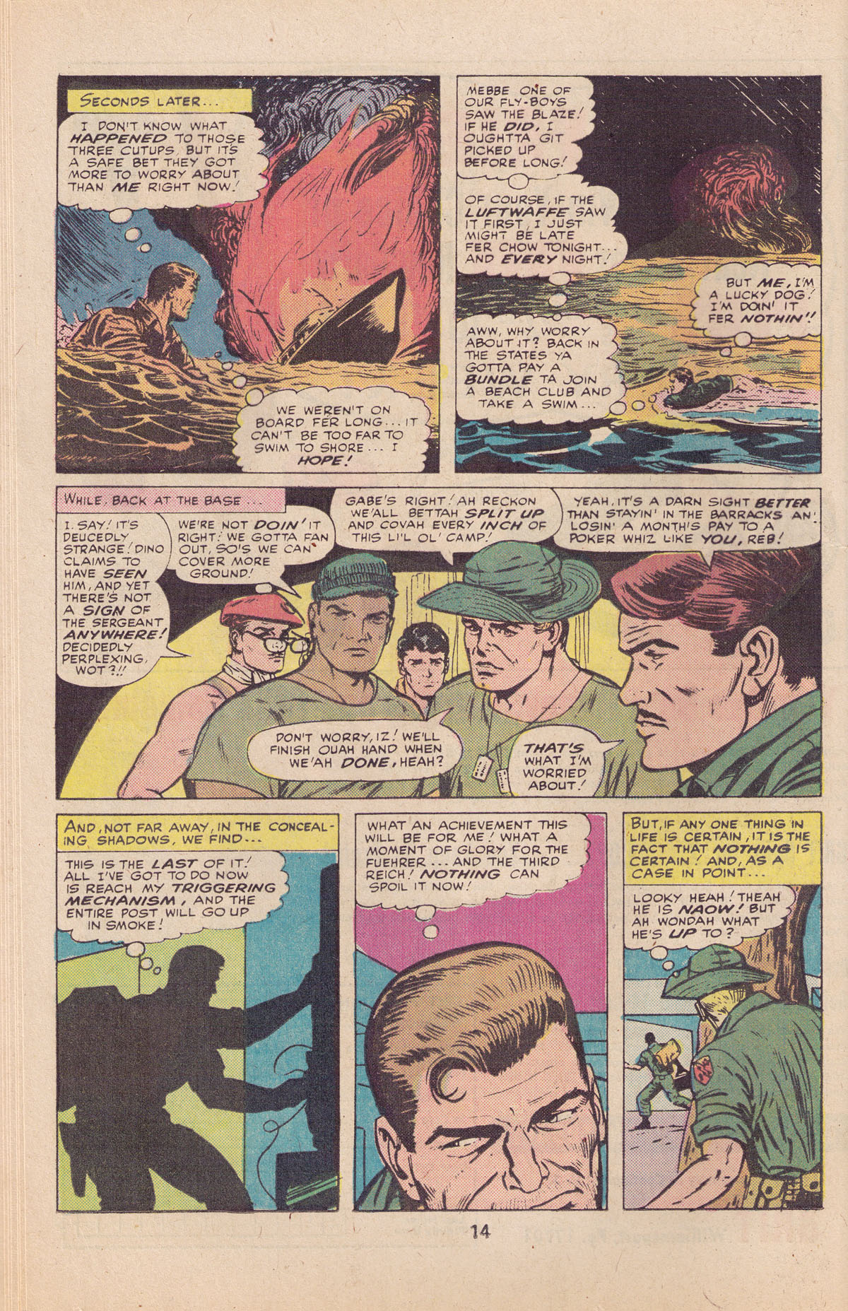 Read online Sgt. Fury comic -  Issue #127 - 16