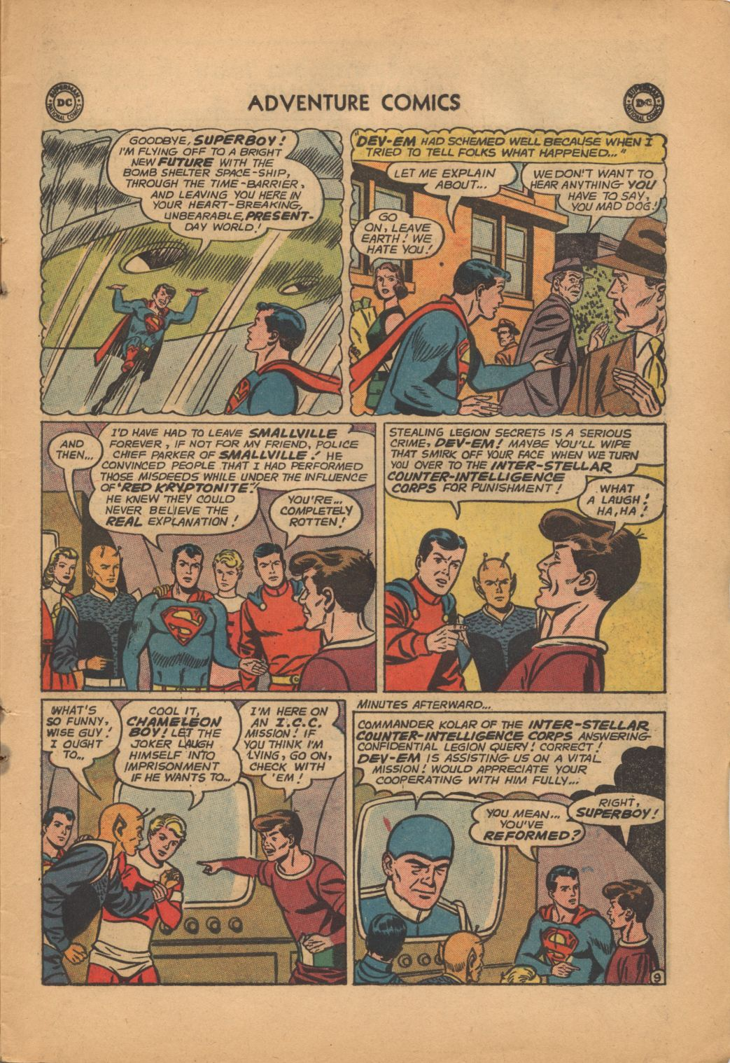 Read online Adventure Comics (1938) comic -  Issue #320 - 11