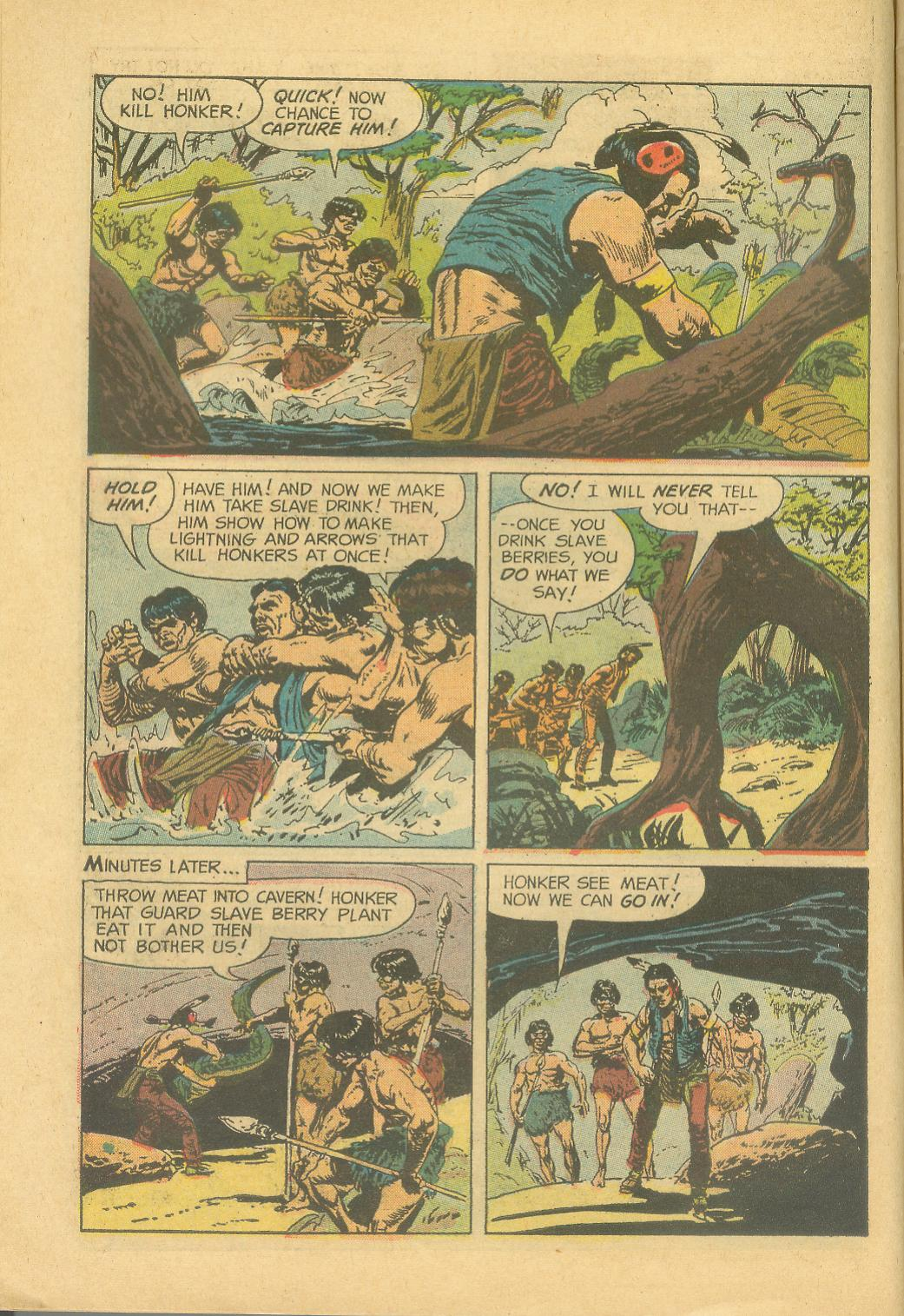 Read online Turok, Son of Stone comic -  Issue #28 - 10