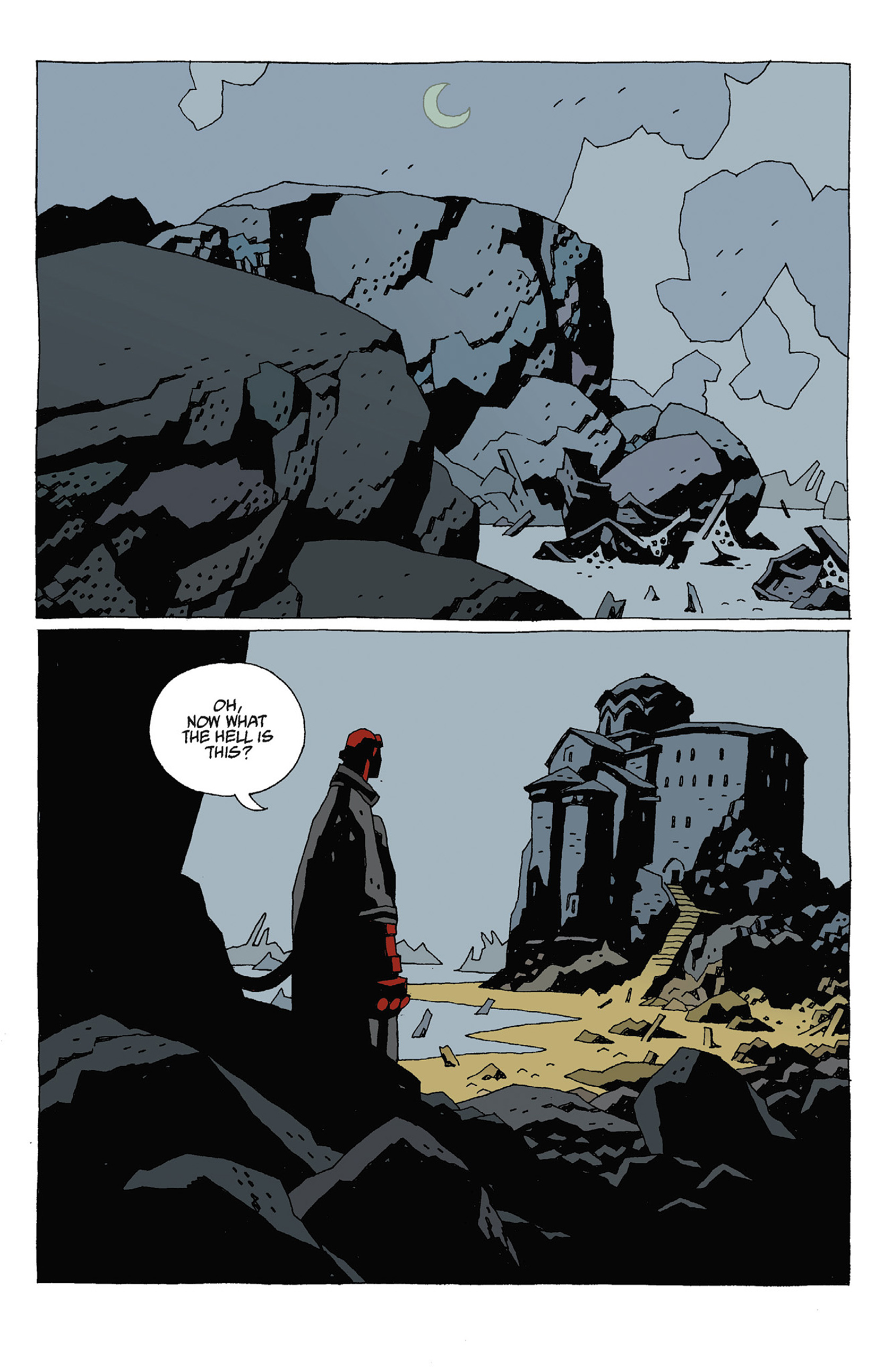 Read online Hellboy: Strange Places comic -  Issue # TPB - 79
