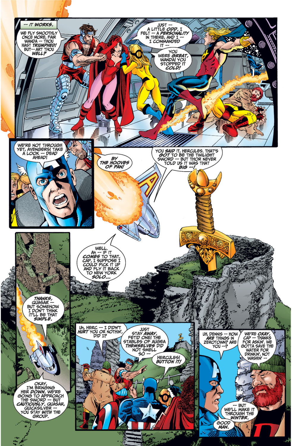 Avengers (1998) issue 1 - Page 30