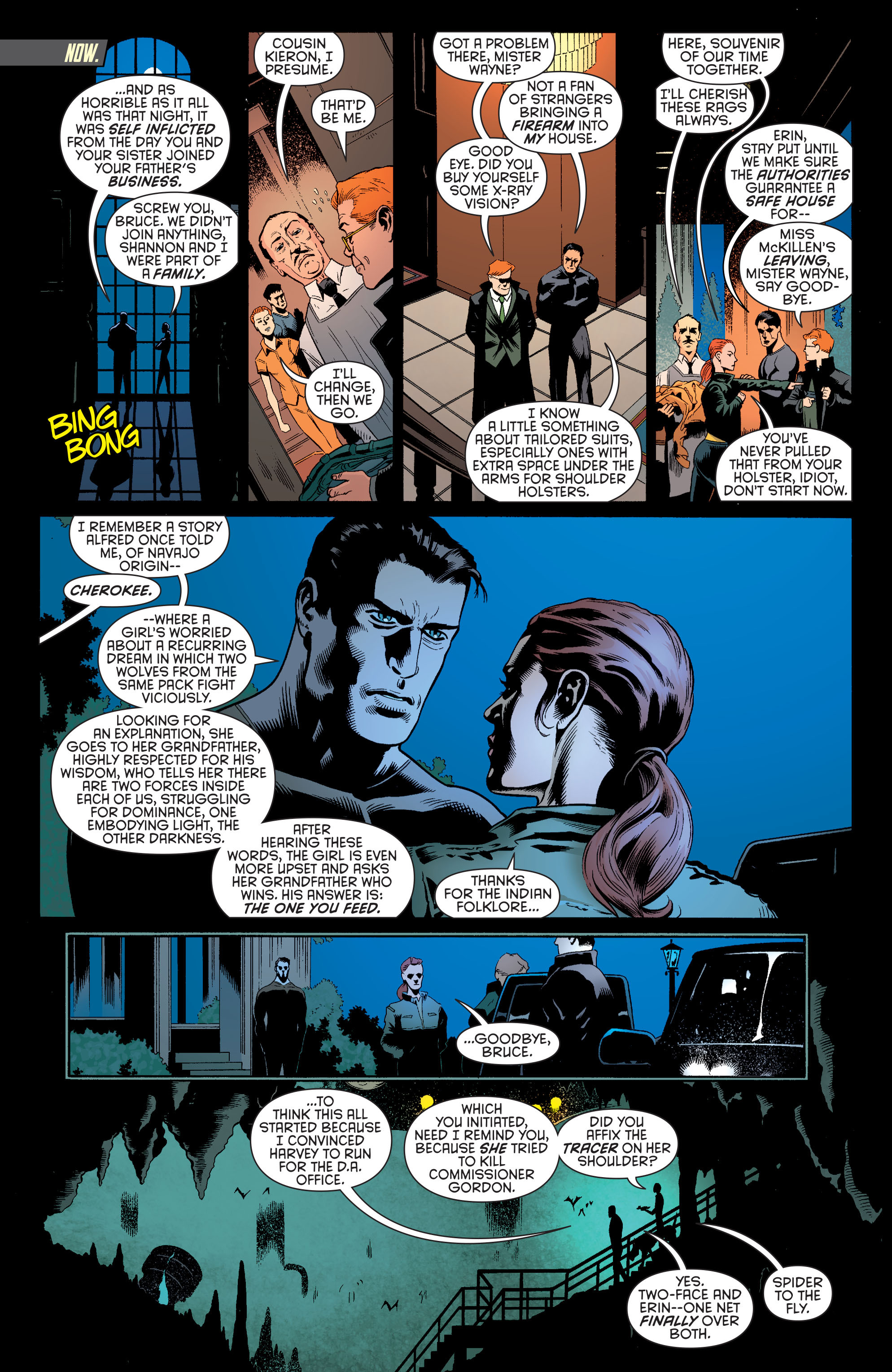 Read online Batman and Robin (2011) comic -  Issue #26 - Batman and Two-Face - 13