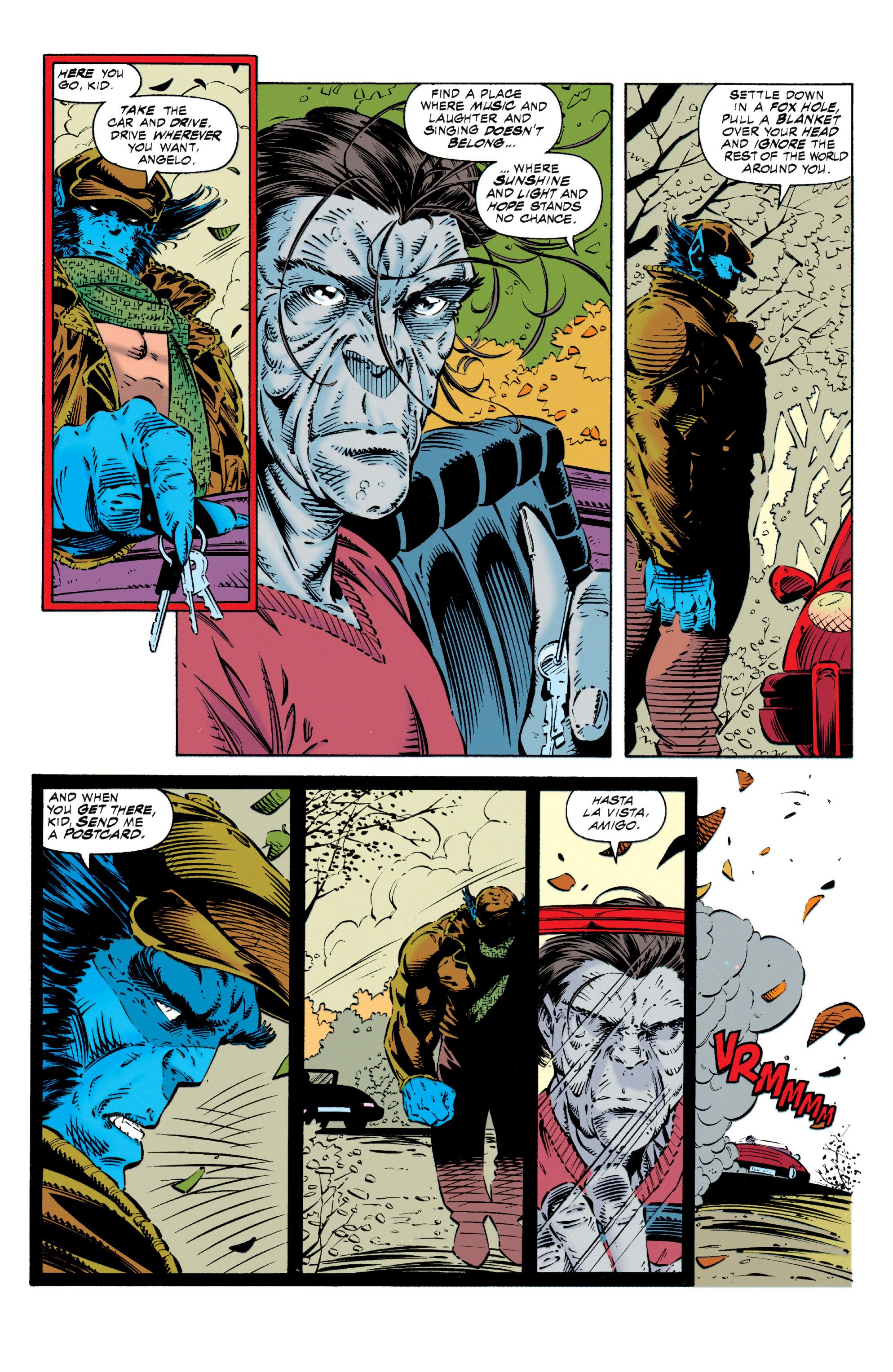 Read online Uncanny X-Men (1963) comic -  Issue #318 - 16