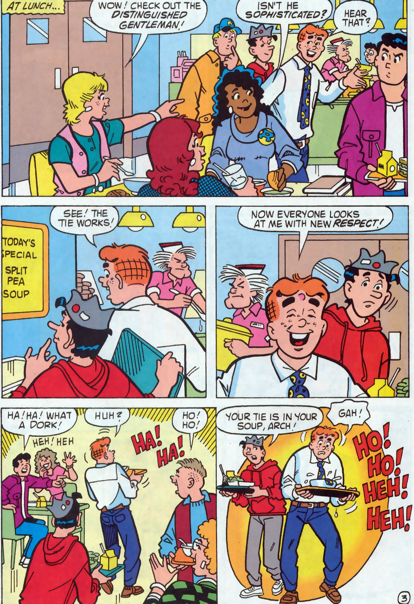 Read online Archie (1960) comic -  Issue #437 - 16