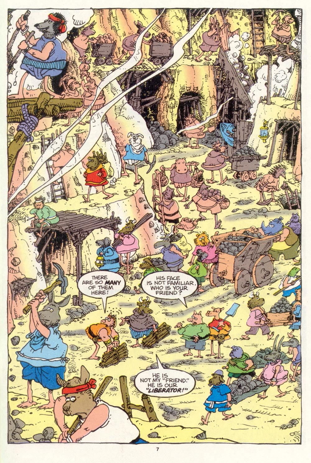 Read online Sergio Aragonés Groo the Wanderer comic -  Issue #105 - 9