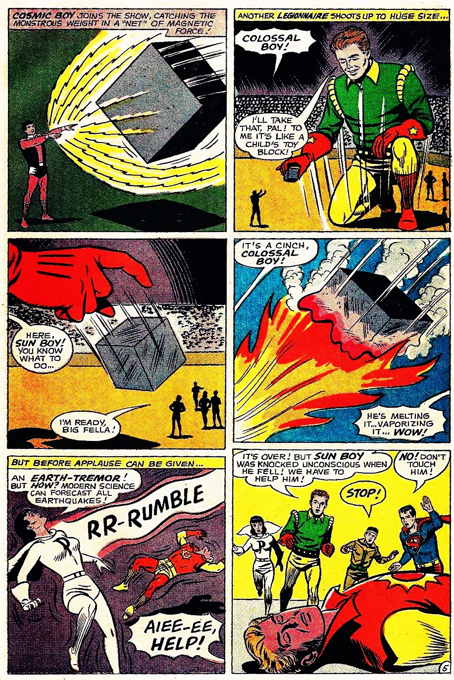 Read online Adventure Comics (1938) comic -  Issue #348 - 7