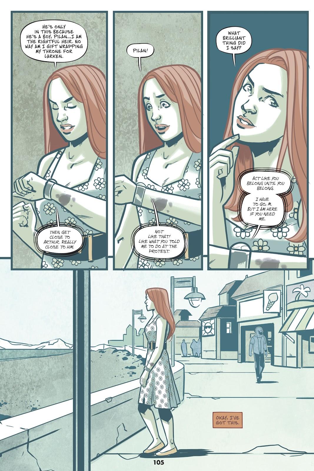 Read online Mera: Tidebreaker comic -  Issue # TPB (Part 2) - 5