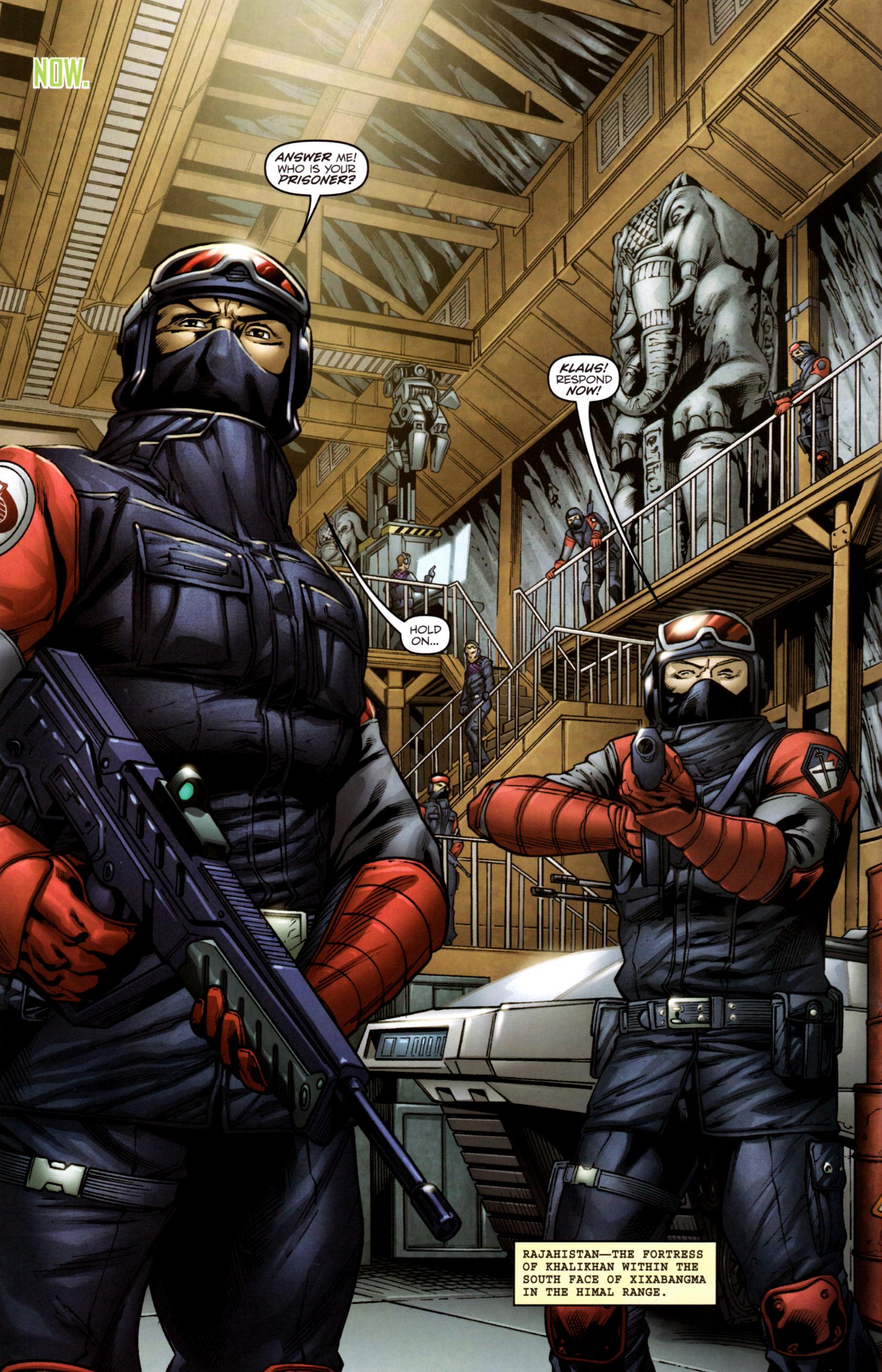 Read online G.I. Joe: Snake Eyes comic -  Issue #2 - 5