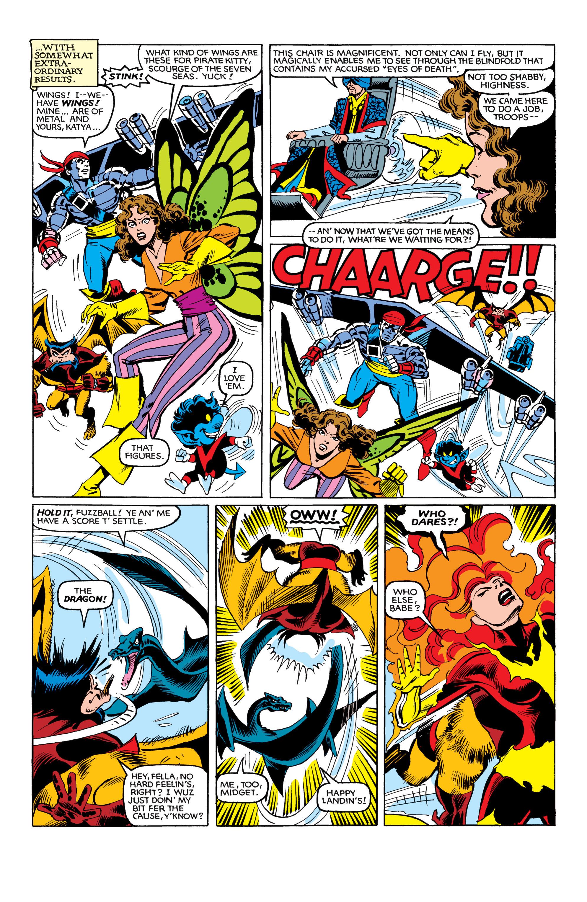 Read online Uncanny X-Men (1963) comic -  Issue #153 - 21