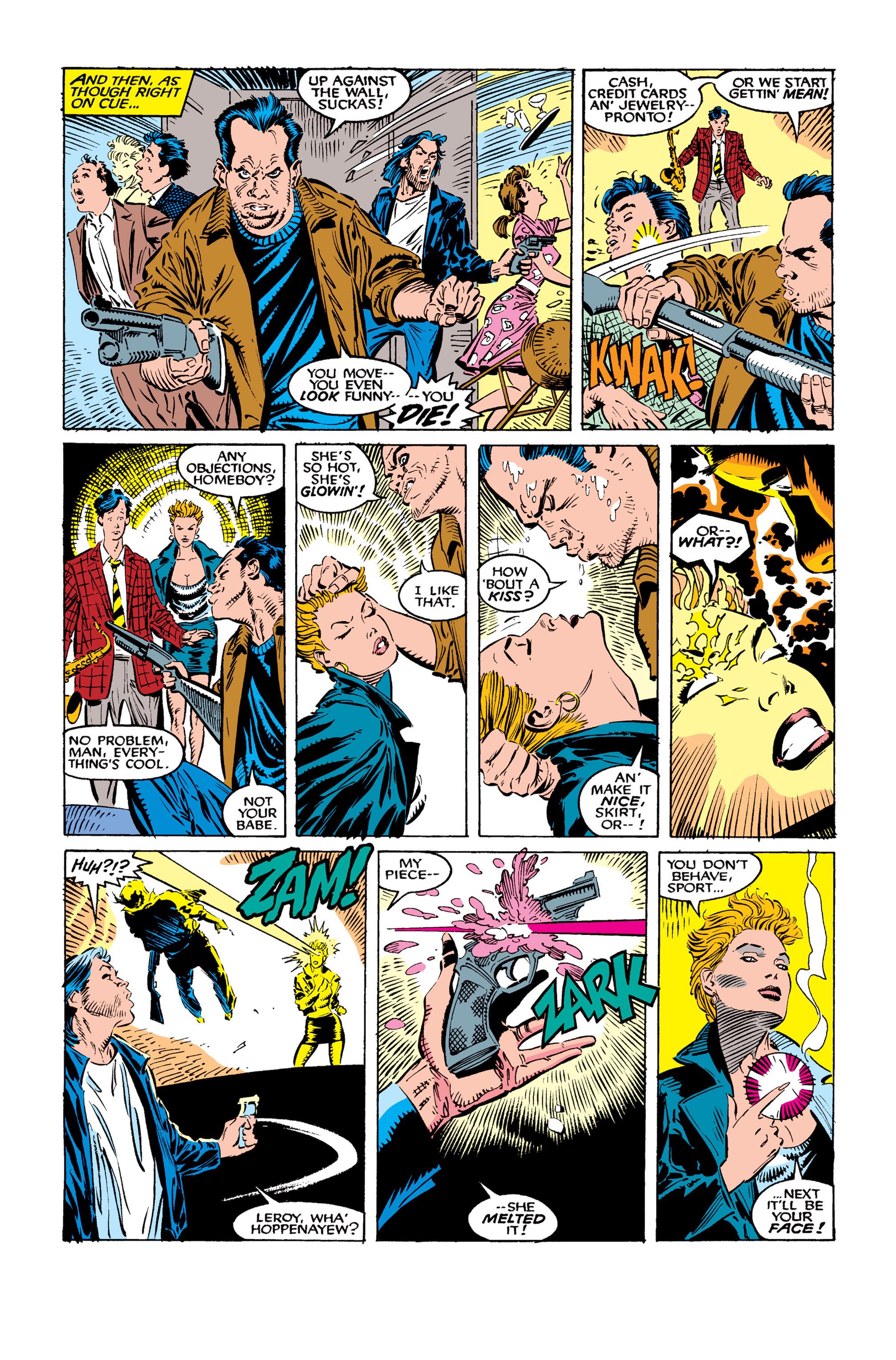 Read online Uncanny X-Men (1963) comic -  Issue #259 - 23