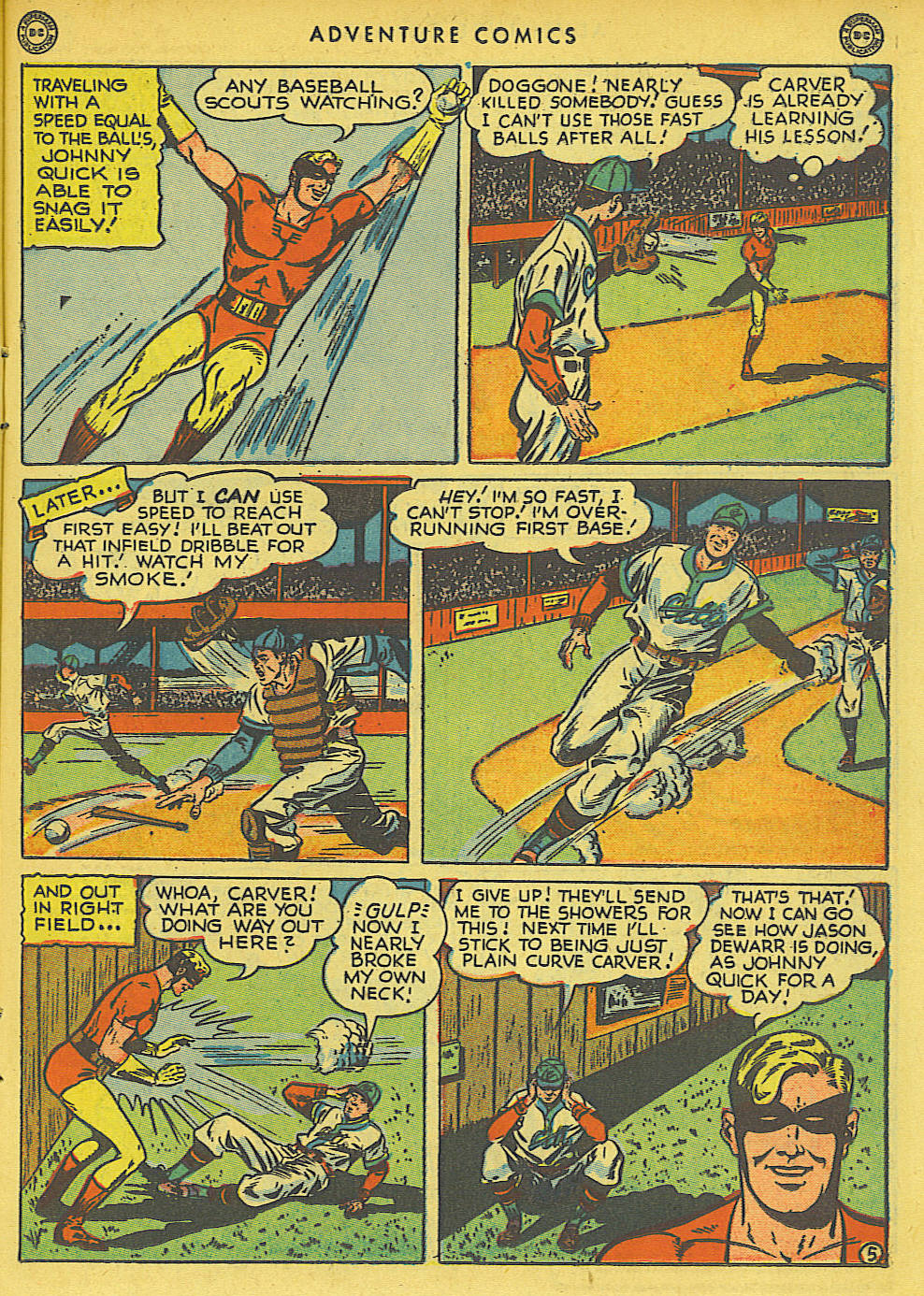 Read online Adventure Comics (1938) comic -  Issue #136 - 21