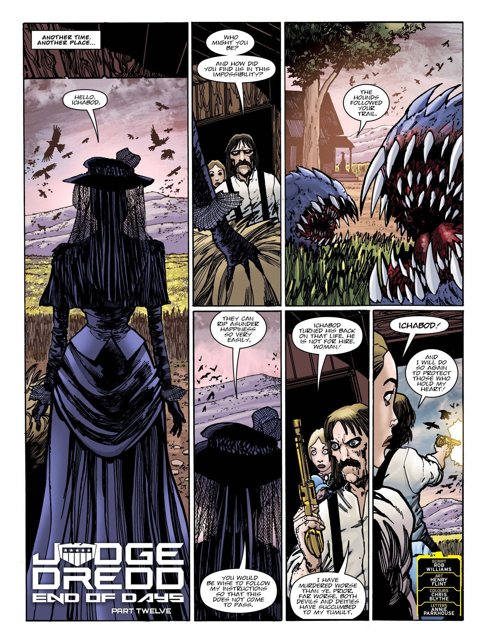 2000 AD 2195 Page 3