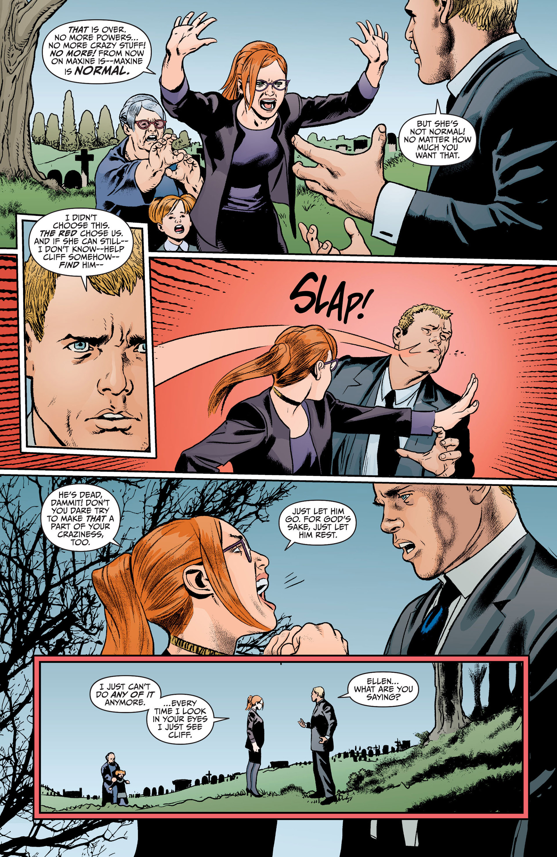 Read online Animal Man (2011) comic -  Issue #19 - 8