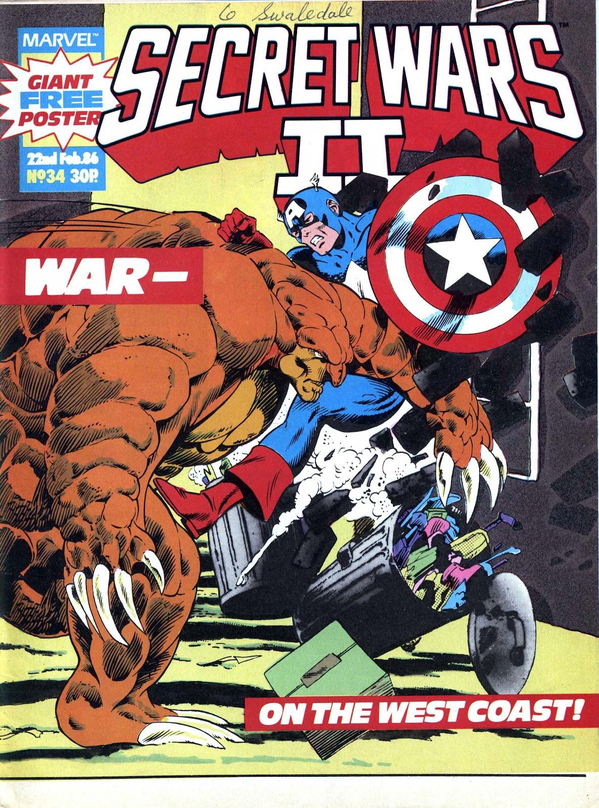 Secret Wars (1985) issue 34 - Page 1