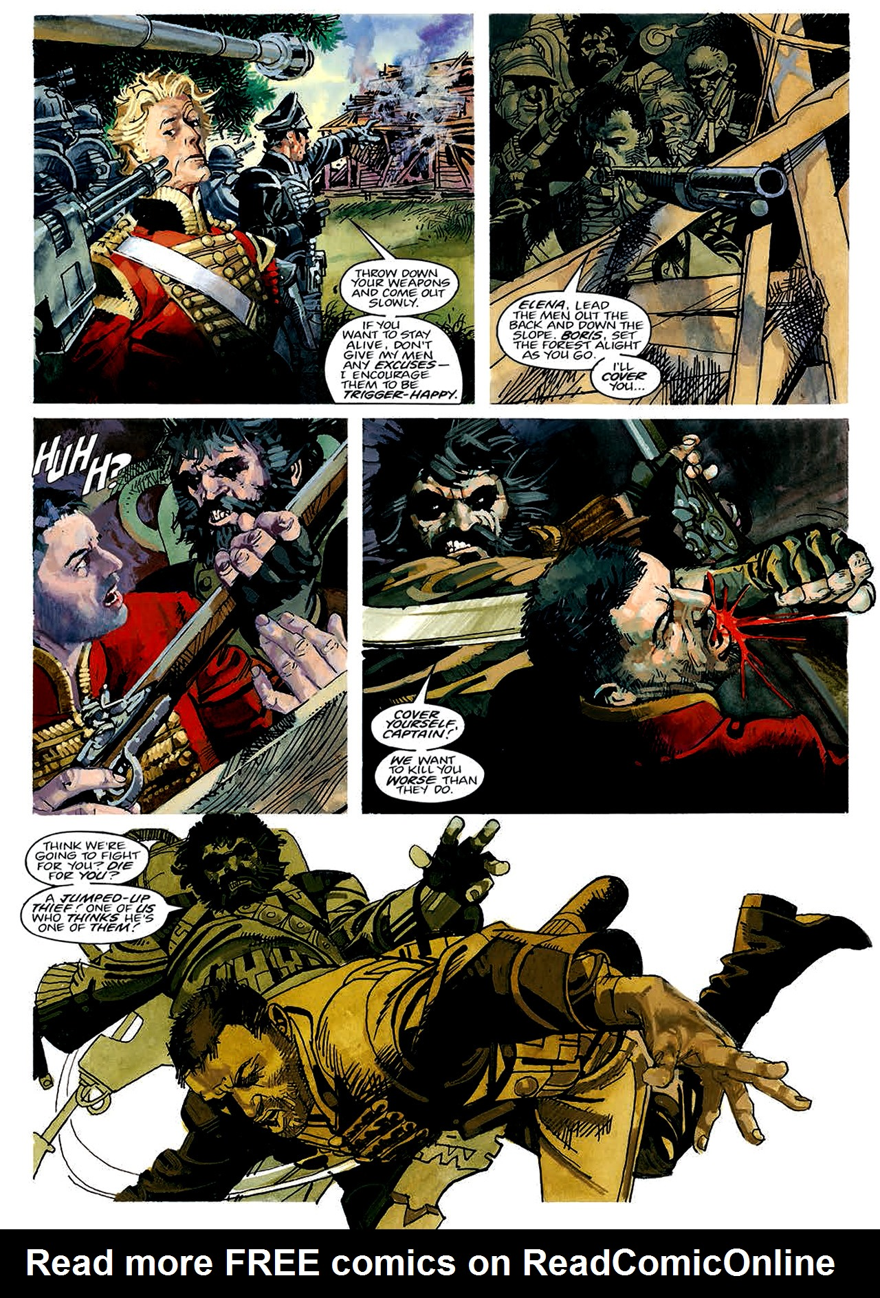 Read online Nikolai Dante comic -  Issue # TPB 4 - 34