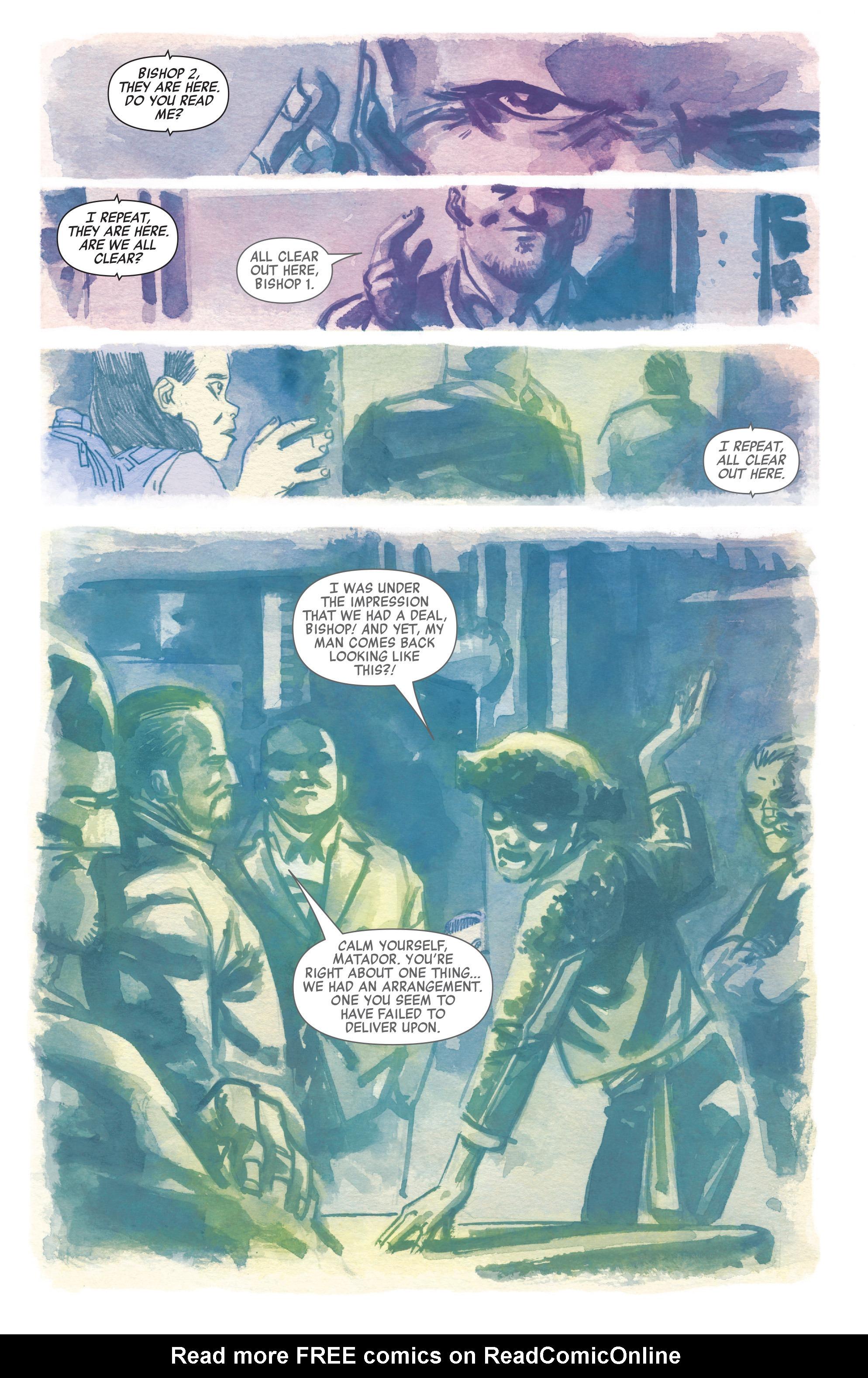 Read online All-New Hawkeye (2016) comic -  Issue #5 - 12
