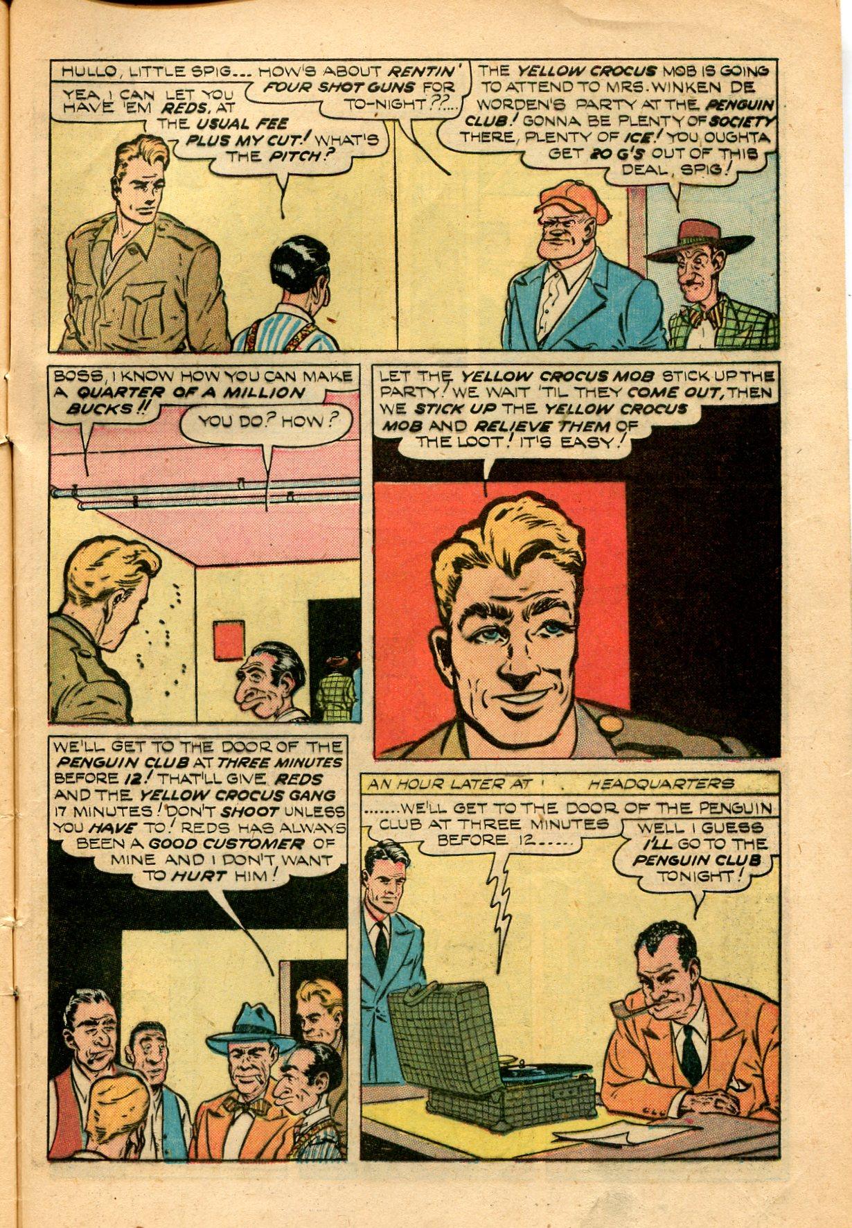 Read online Shadow Comics comic -  Issue #82 - 45