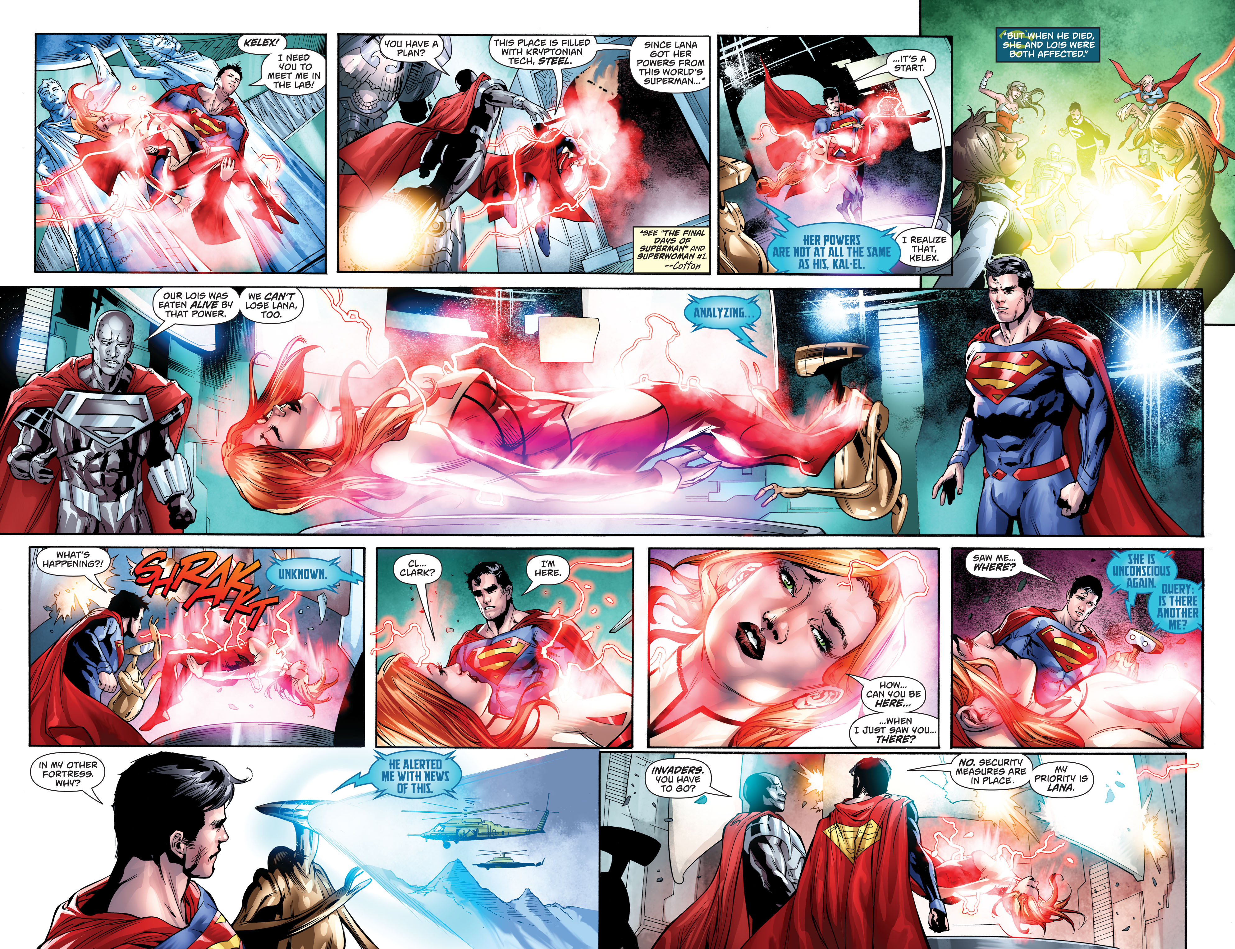 Read online Action Comics (2016) comic -  Issue #974 - 5