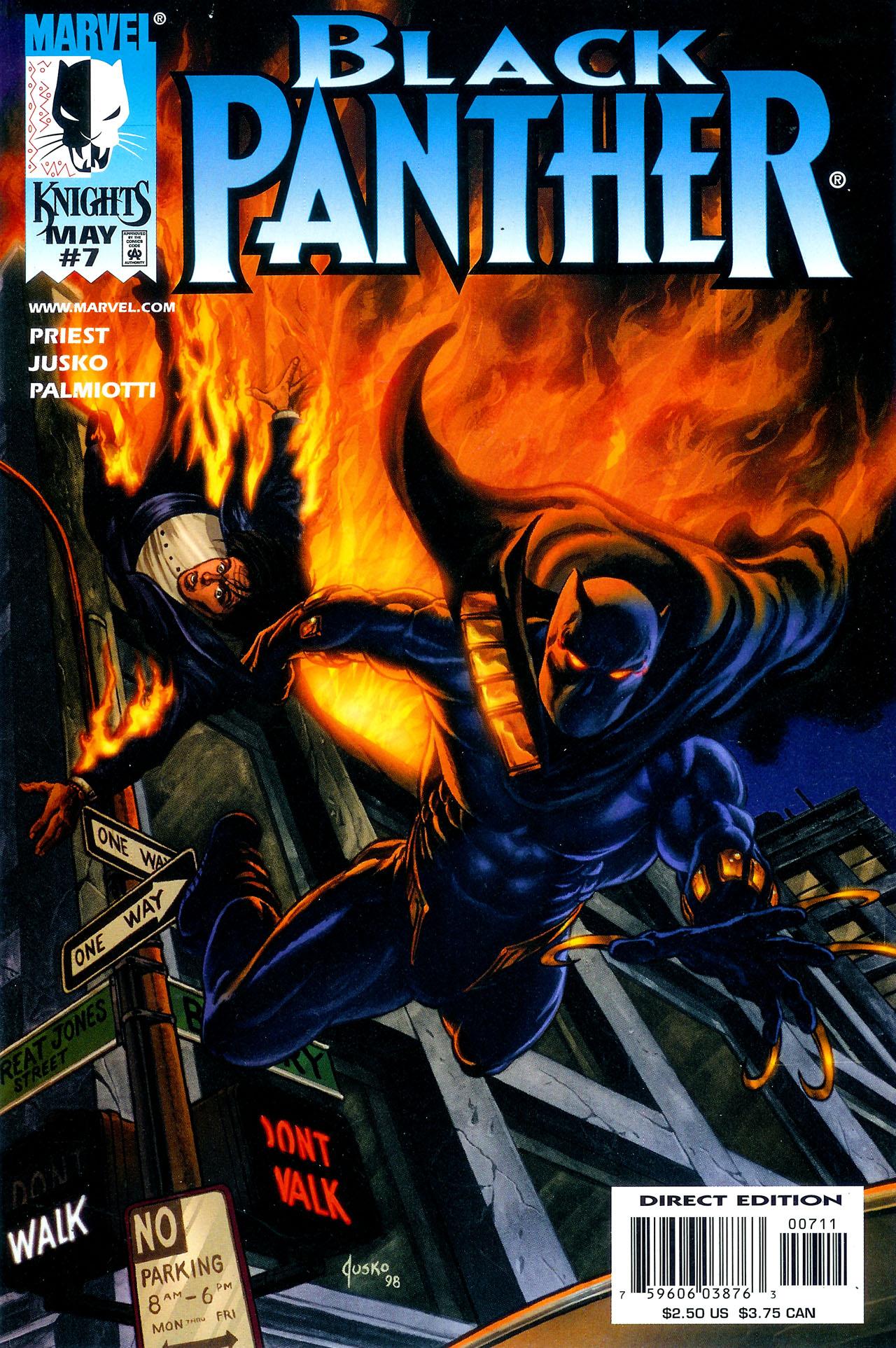 Black Panther (1998) 7 Page 1