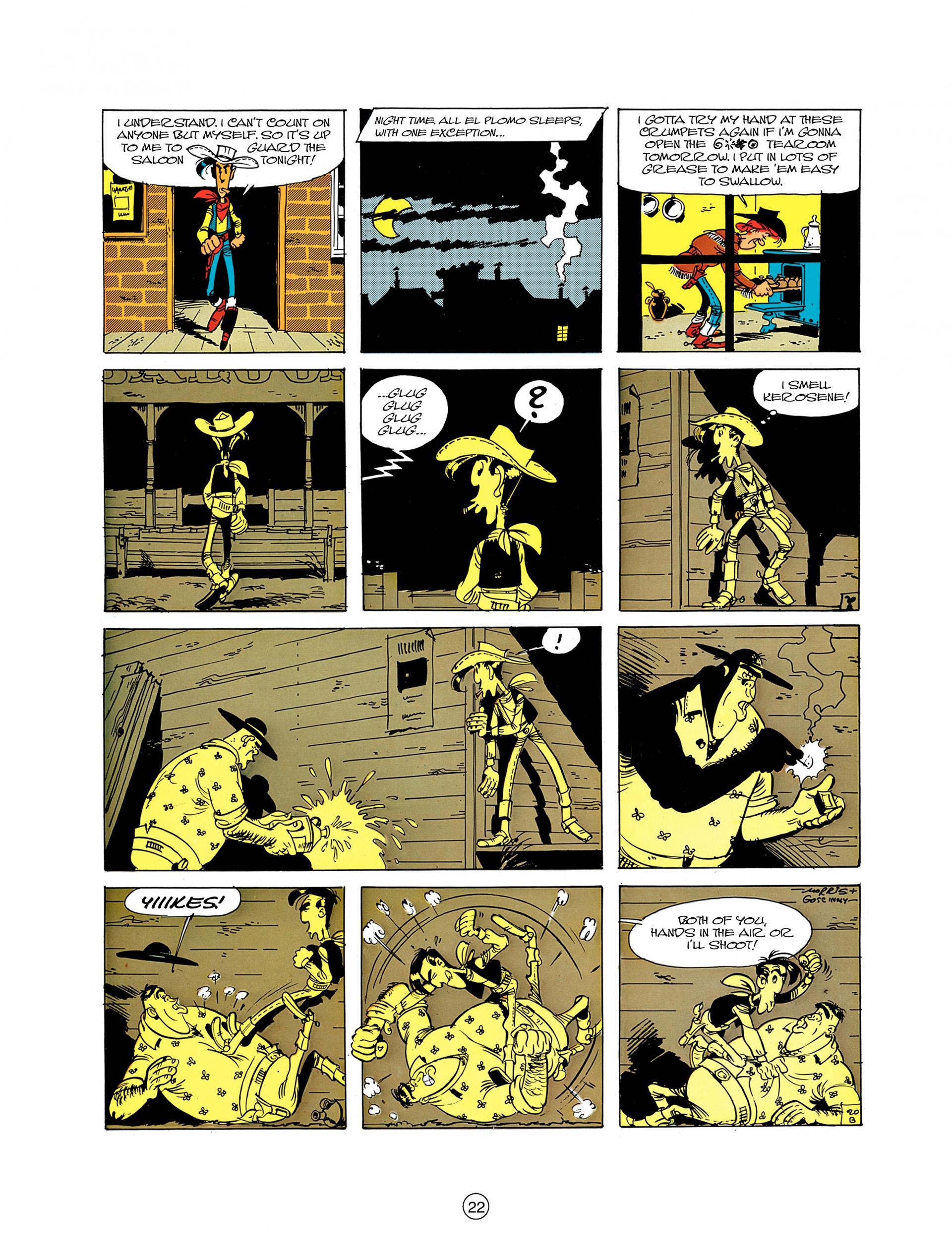 Read online A Lucky Luke Adventure comic -  Issue #8 - 22