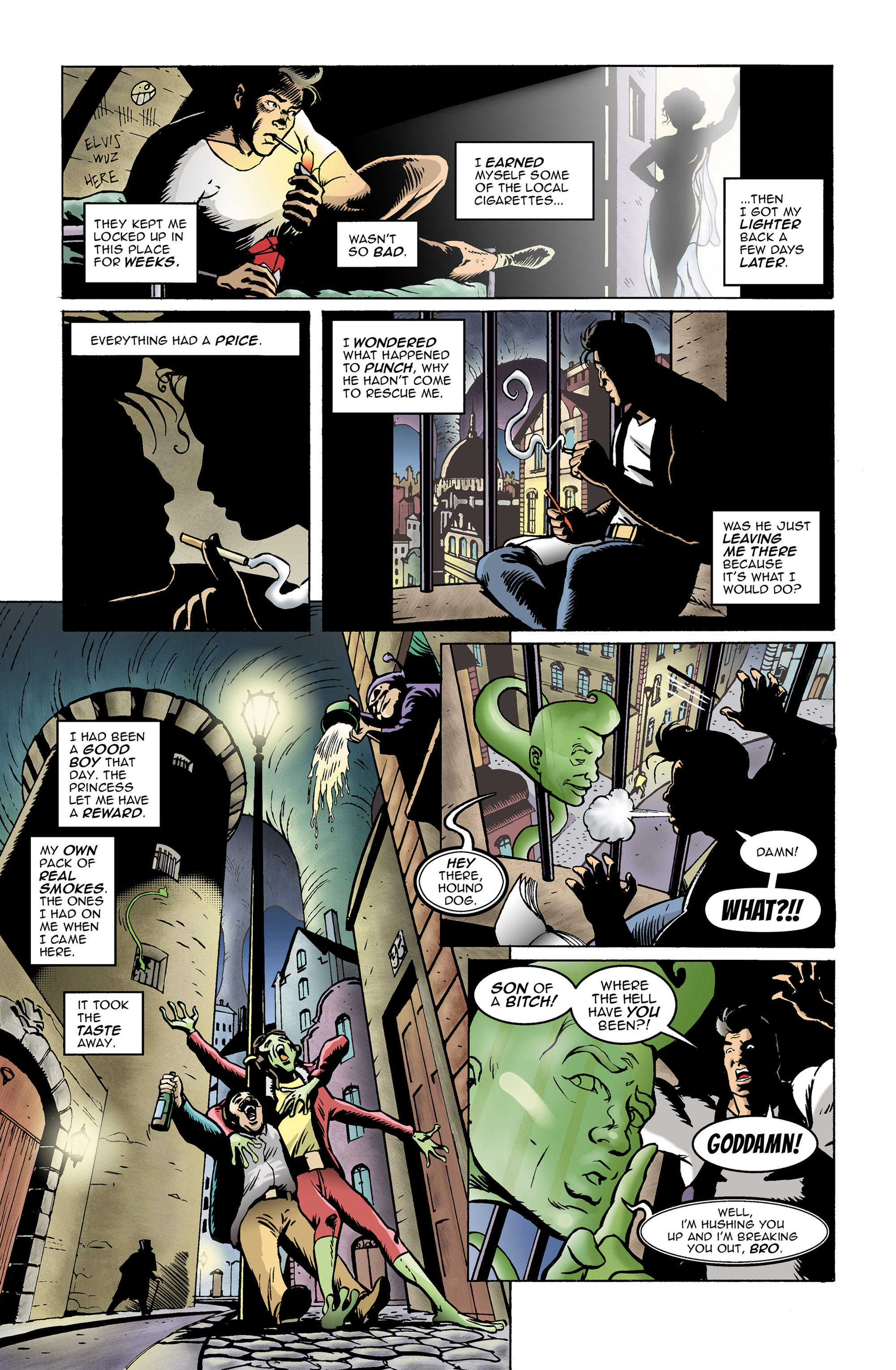 Read online 100% Biodegradable comic -  Issue #14 - 13